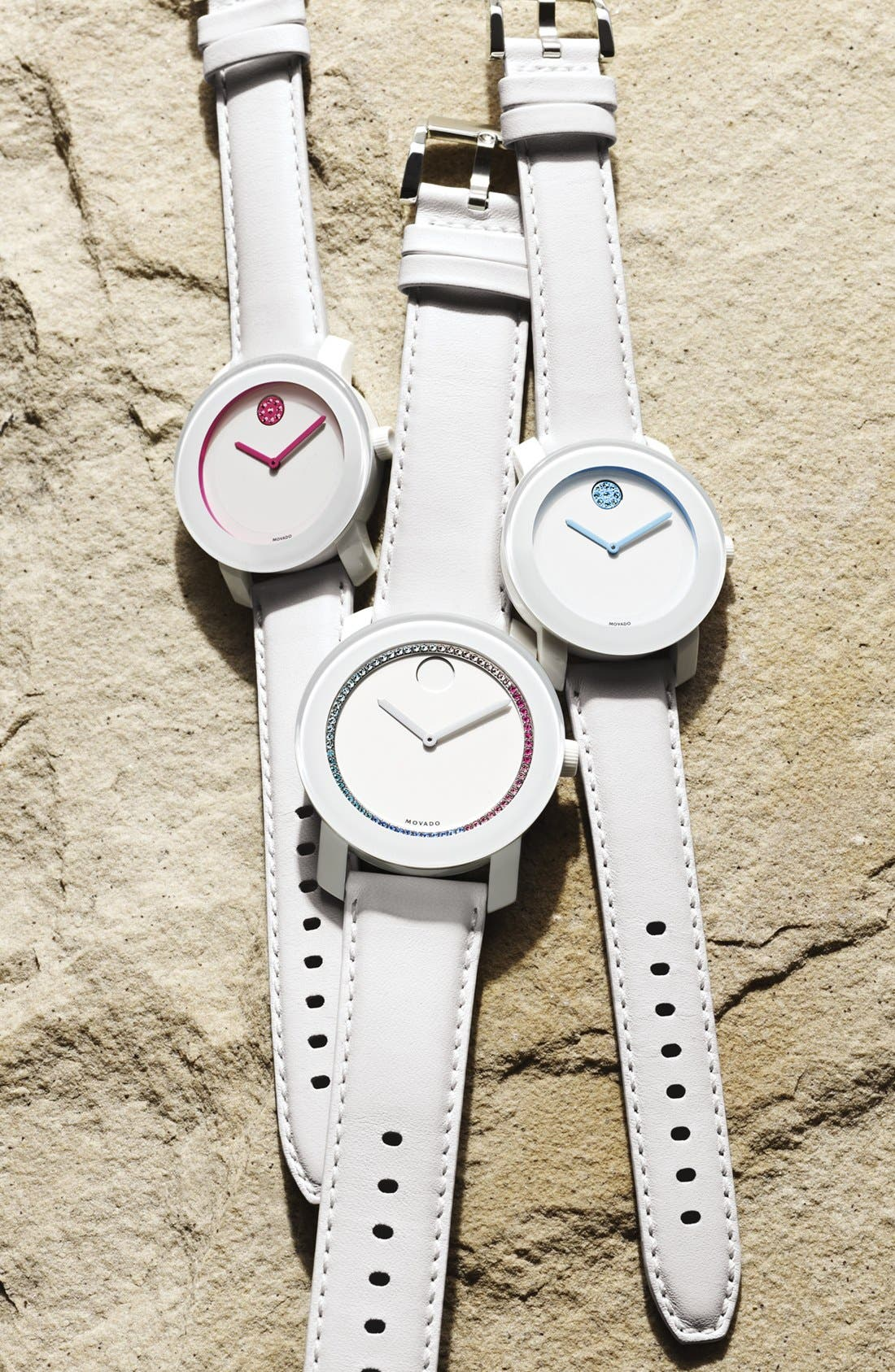 Alternate Image 2  - Movado 'Bold' Crystal Spectrum Watch, 42mm