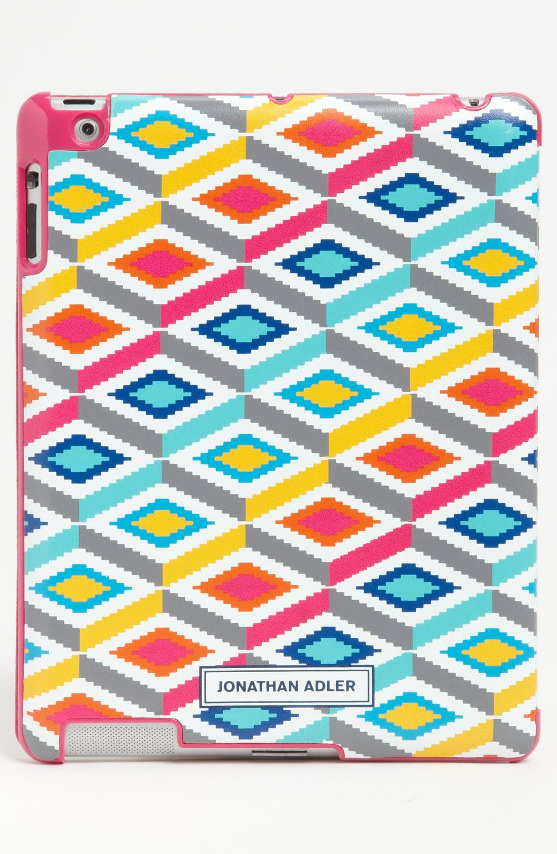 "Alternate Image 4  - Jonathan Adler 'Stepped Diamonds"" iPad 2 & 3Case"
