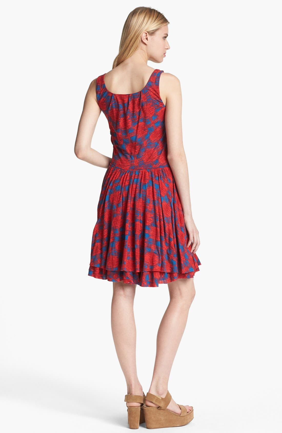 Alternate Image 2  - MARC BY MARC JACOBS 'Sam' Cotton Fit & Flare Dress