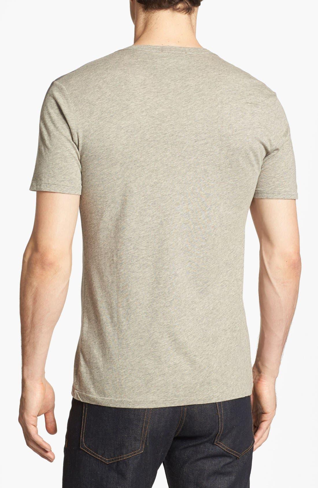 Alternate Image 2  - Burberry Brit 'Eburne' Waterprint Check T-Shirt