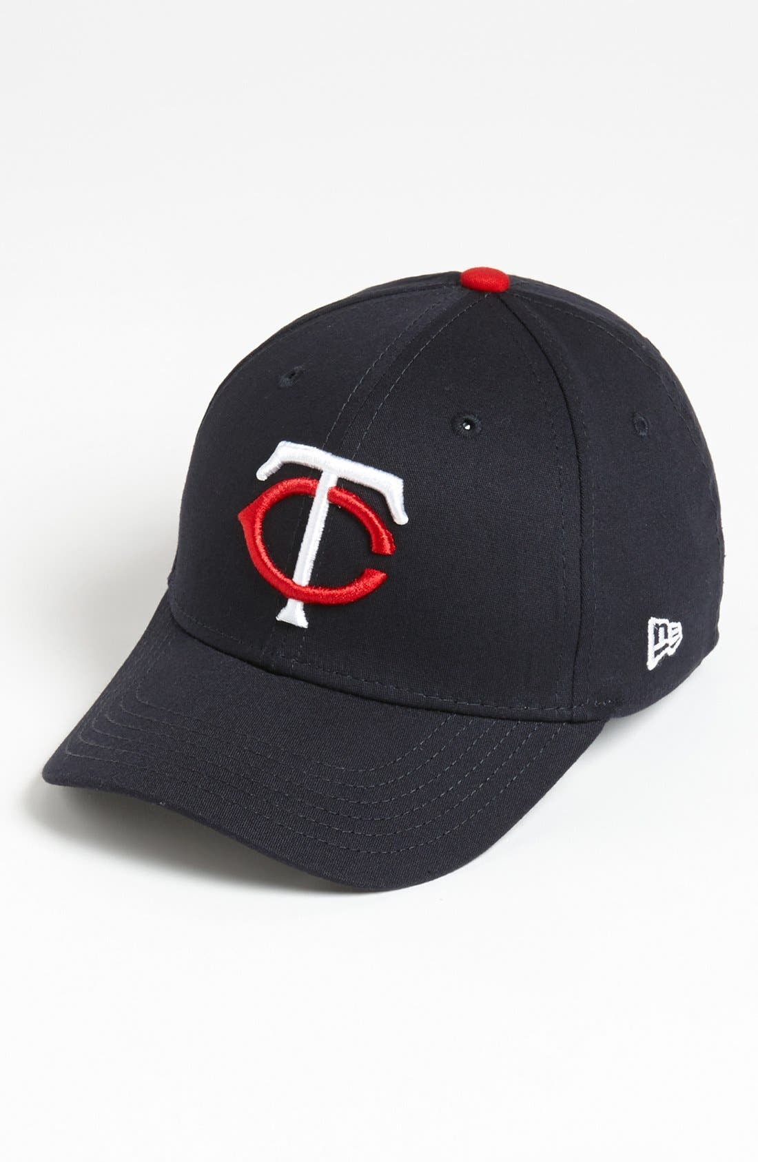 Alternate Image 1 Selected - New Era Cap 'Minnesota Twins - Tie Breaker' Baseball Cap (Big Boys)