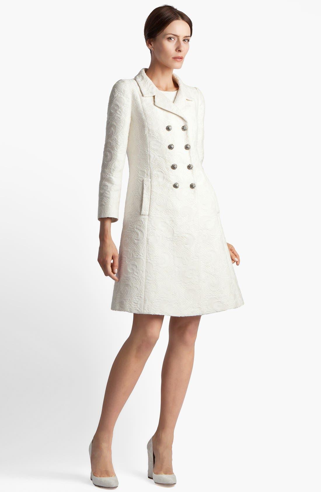 Alternate Image 1 Selected - Dolce&Gabbana Brocade Coat