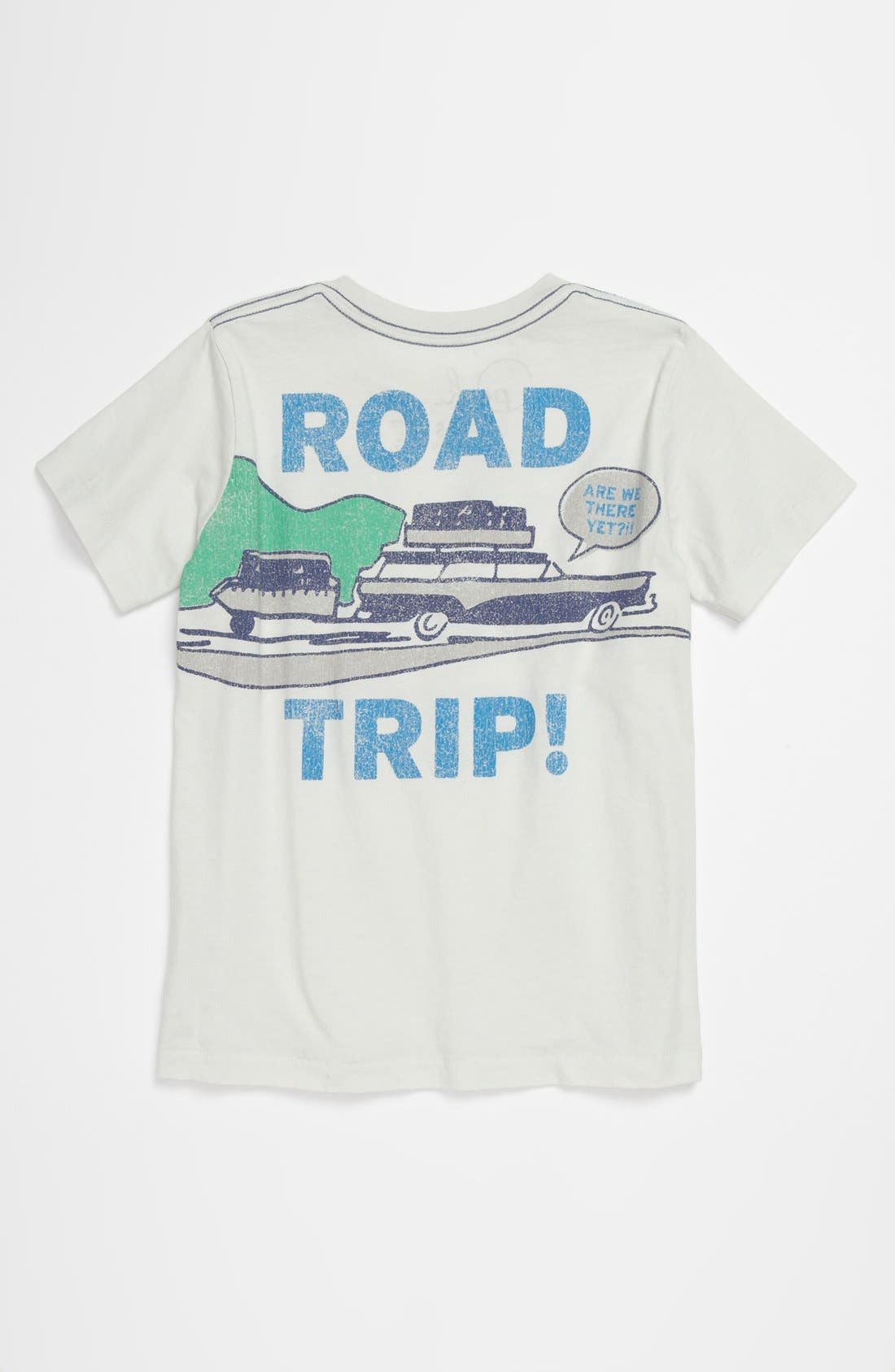 'Road Trip' T-Shirt,                             Alternate thumbnail 2, color,                             Light Blue