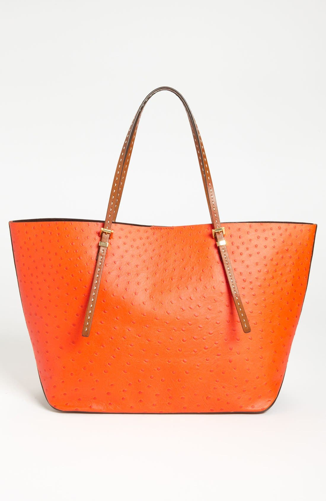 Alternate Image 4  - Michael Kors 'Gia' Ostrich Embossed Leather Tote