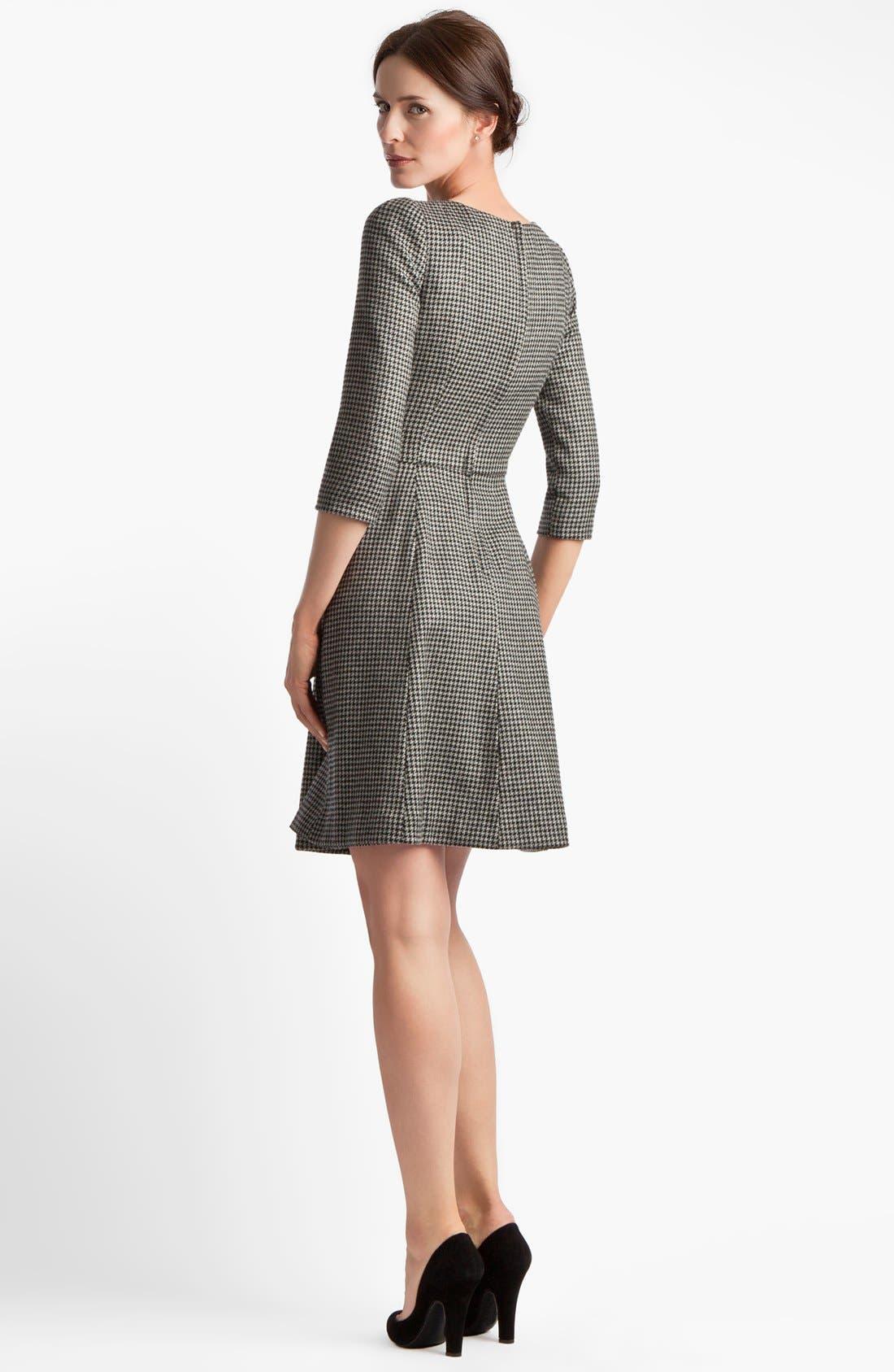 Alternate Image 2  - Dolce&Gabbana Stretch Houndstooth Dress