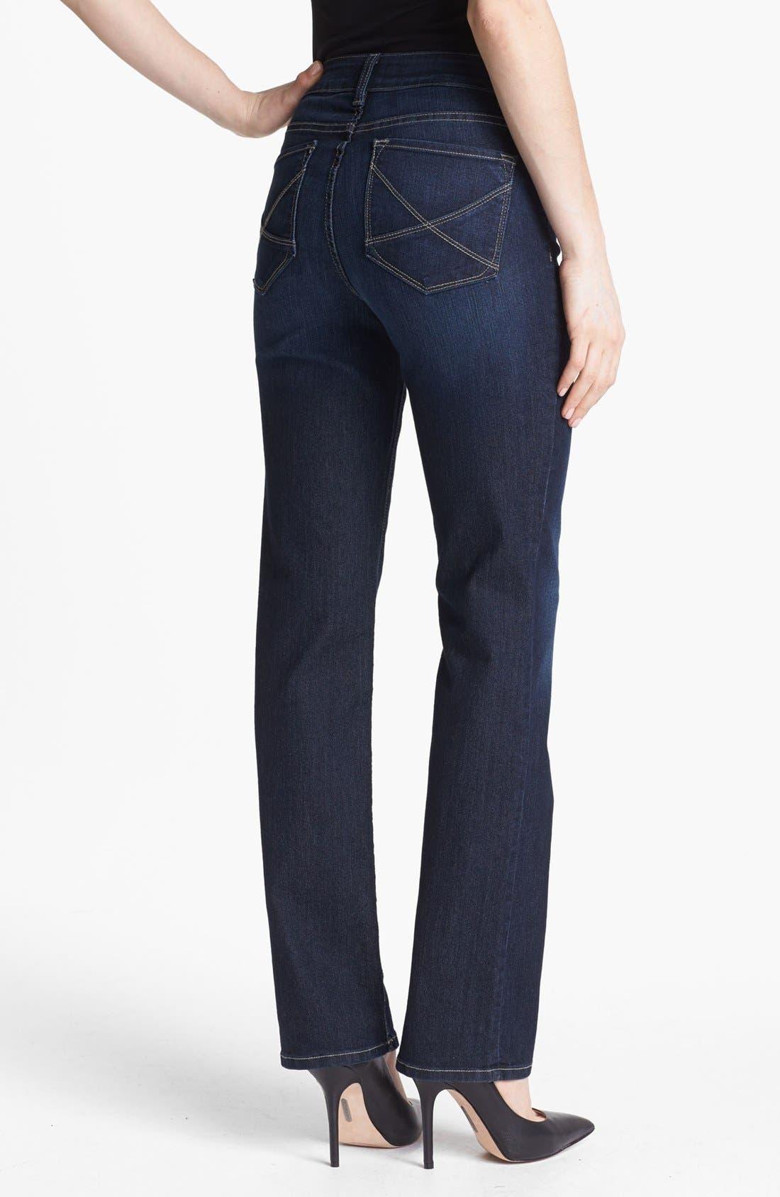 Alternate Image 3  - NYDJ 'Hayden' Stretch Straight Leg Jeans (Hollywood)
