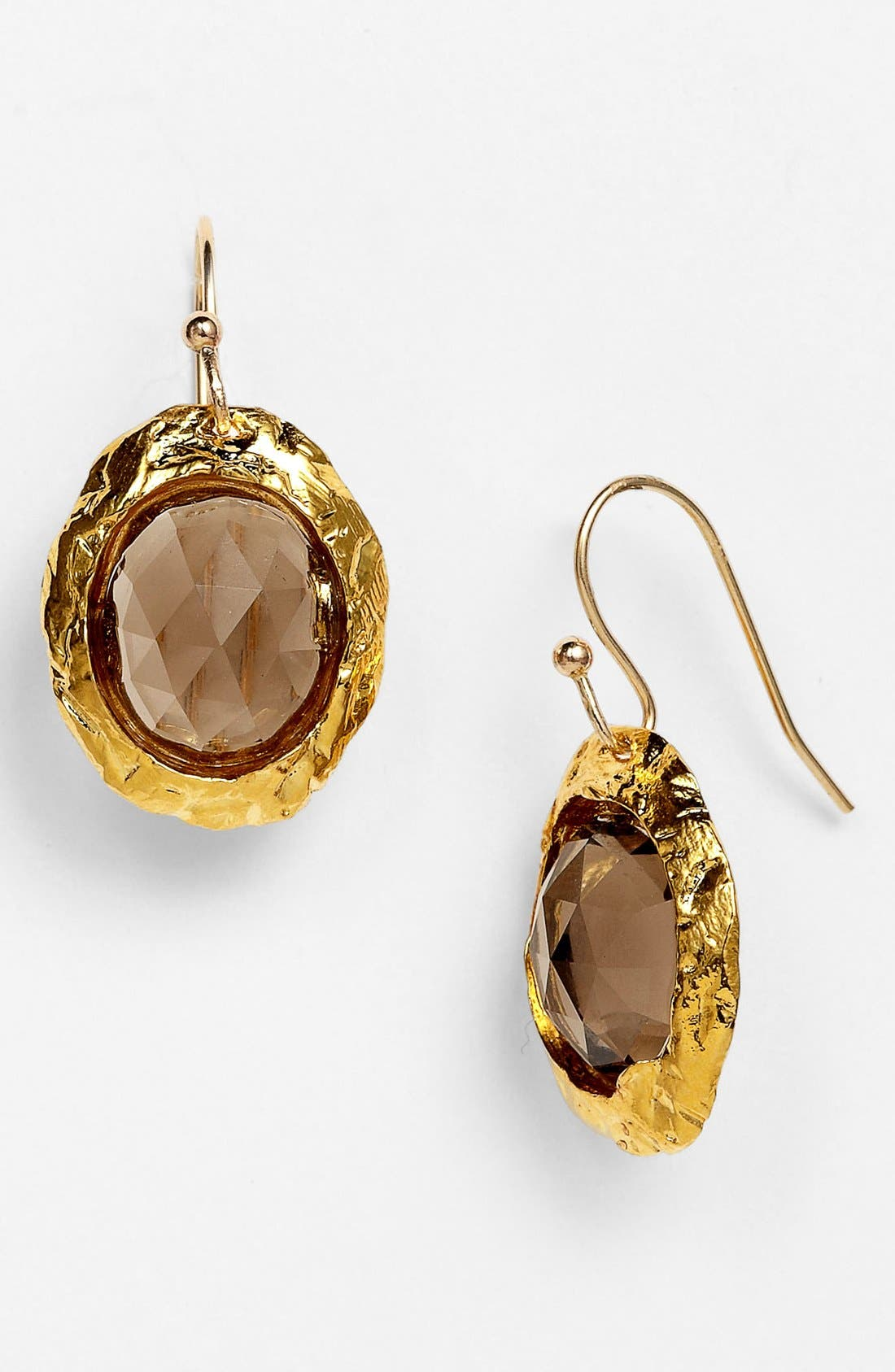 Alternate Image 1 Selected - Alexis Bittar 'Elements' Oval Bezel Drop Earrings (Nordstrom Exclusive)