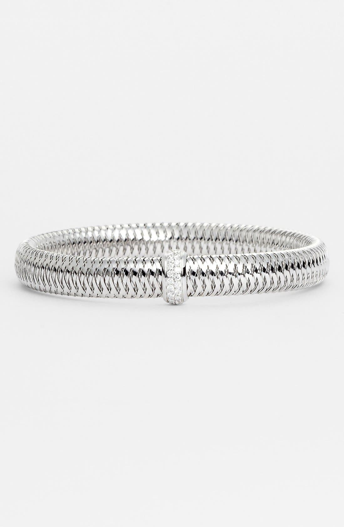 Alternate Image 1 Selected - Roberto Coin 'Primavera' Medium Diamond Bracelet