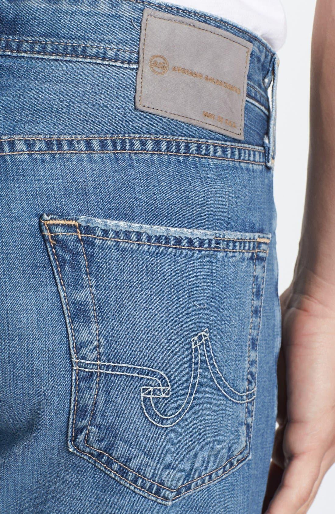 Alternate Image 4  - AG Jeans 'Hero' Relaxed Leg Jeans (Degree)