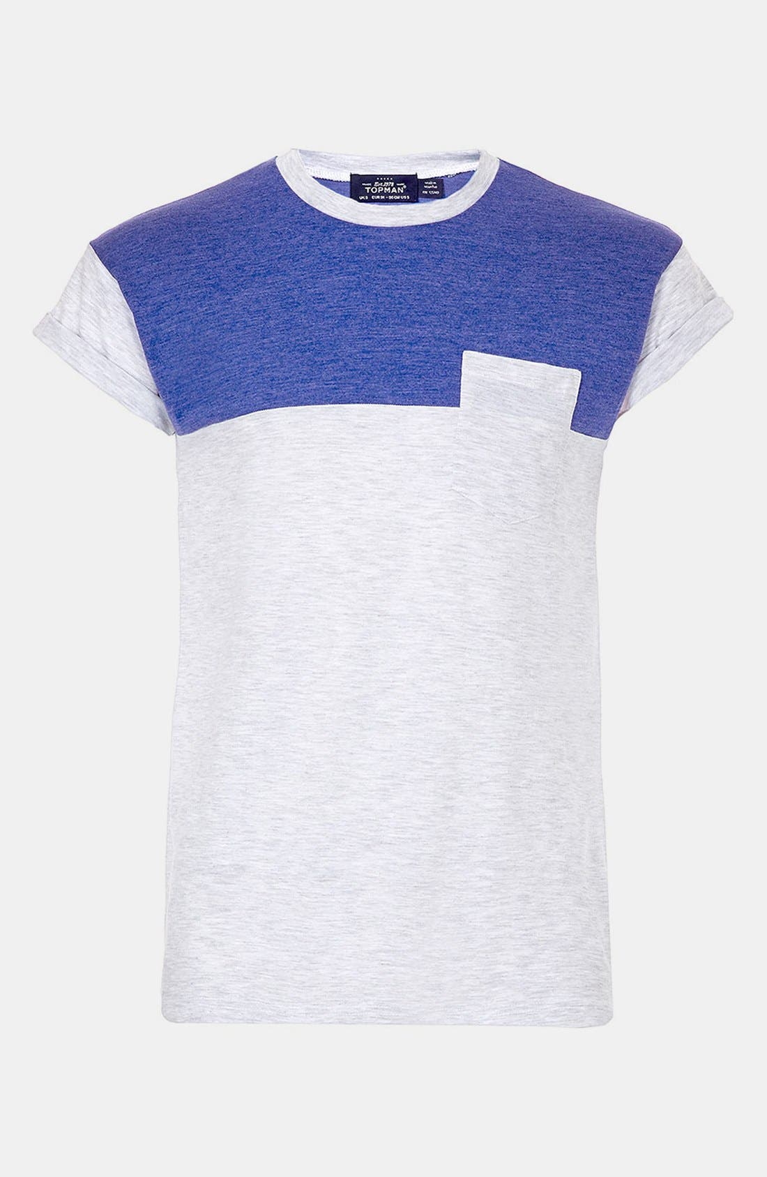 Alternate Image 1 Selected - Topman 'Cut & Sew' T-Shirt