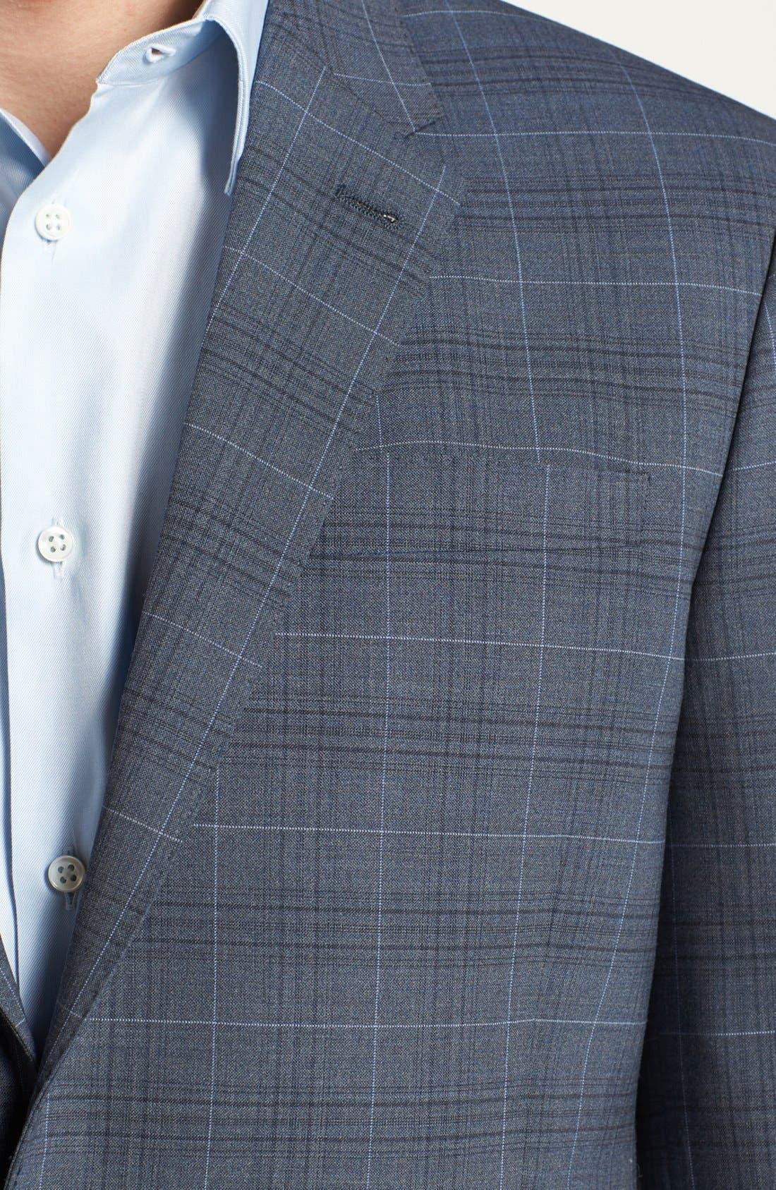Alternate Image 5  - Paul Smith London Wool Plaid Suit