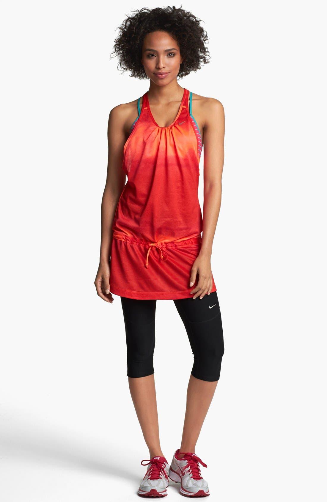Main Image - Nike Tie Dye Running Dress