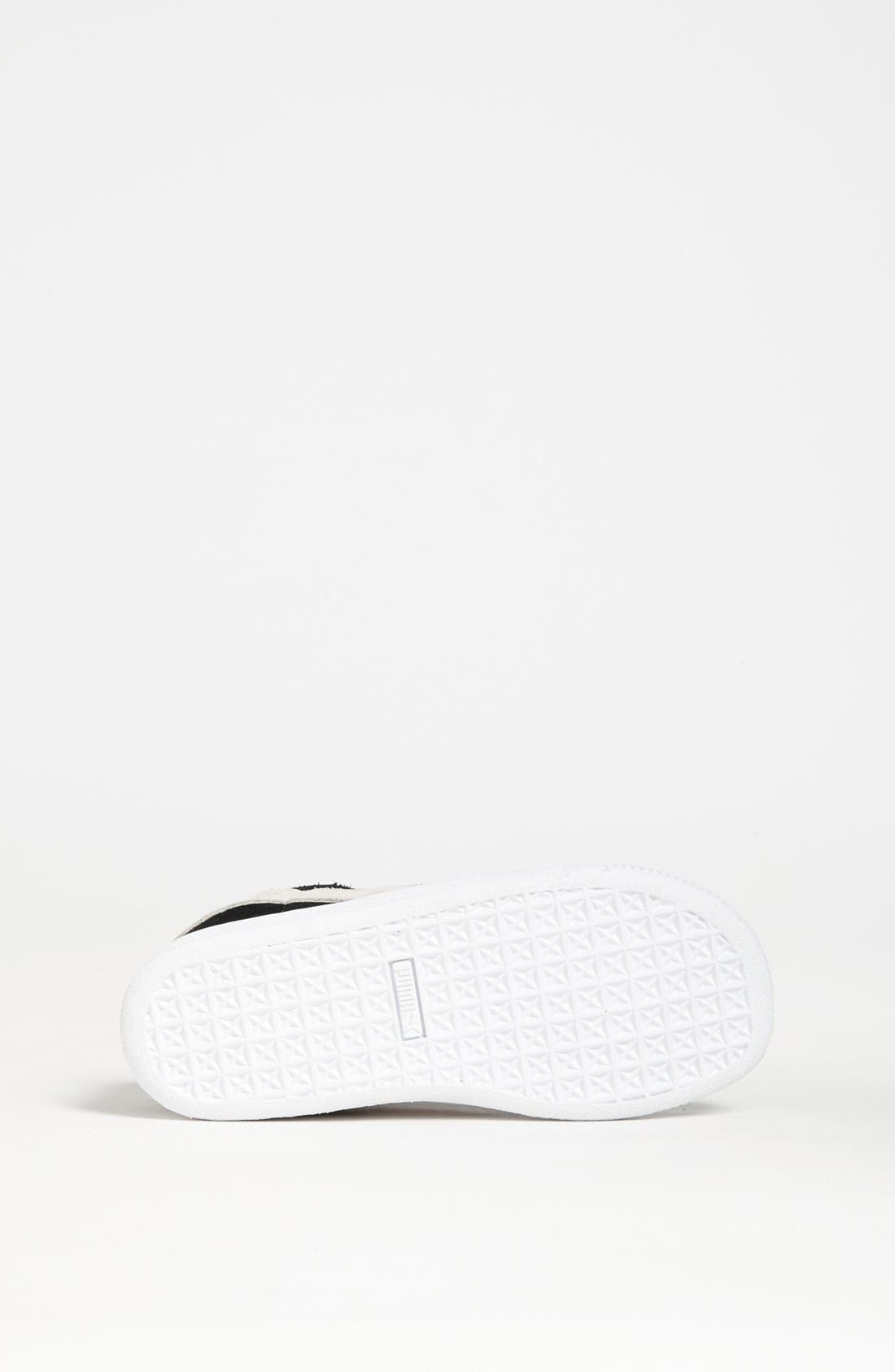 Alternate Image 4  - PUMA Suede Sneaker (Baby, Walker, Toddler, Little Kid & Big Kid)