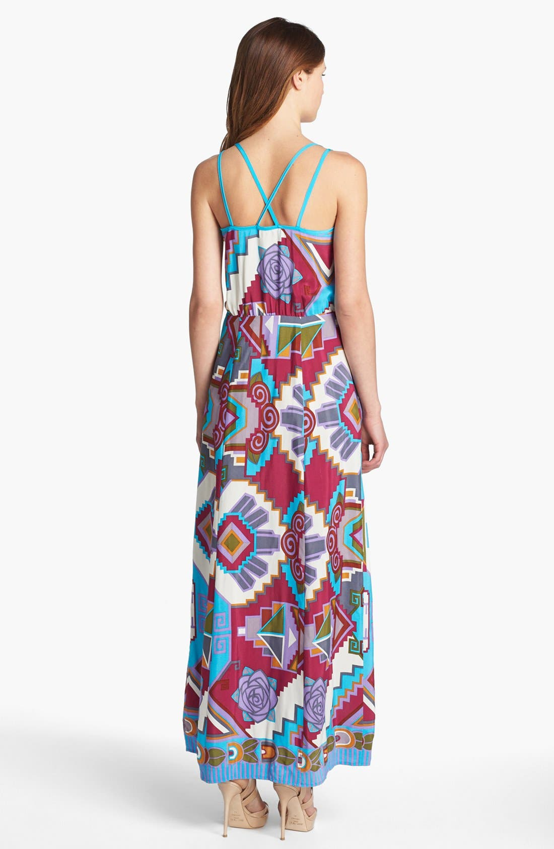 Alternate Image 2  - Nanette Lepore Print Maxi Dress