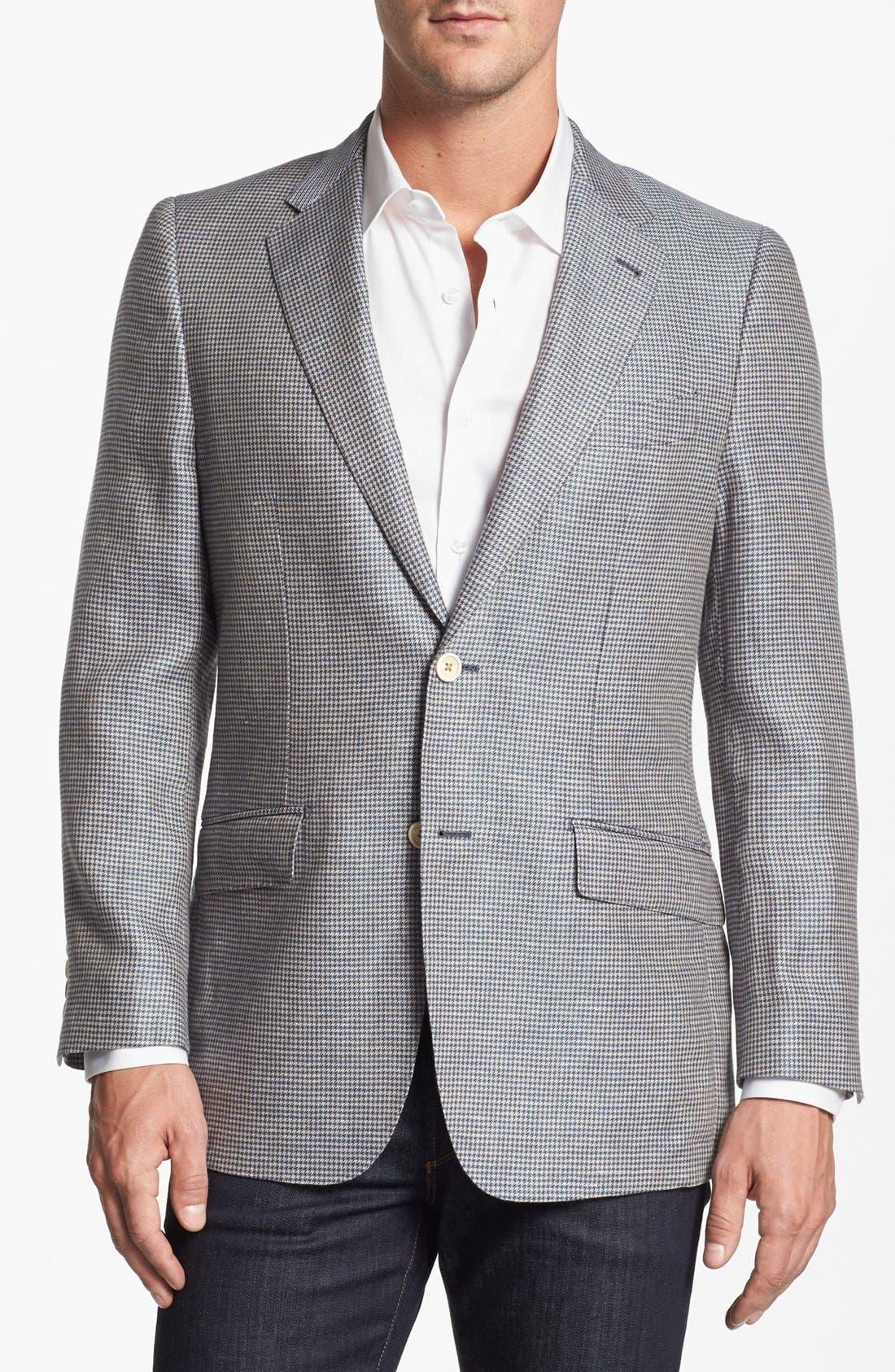 Alternate Image 1 Selected - Robert Talbott Linen Sportcoat