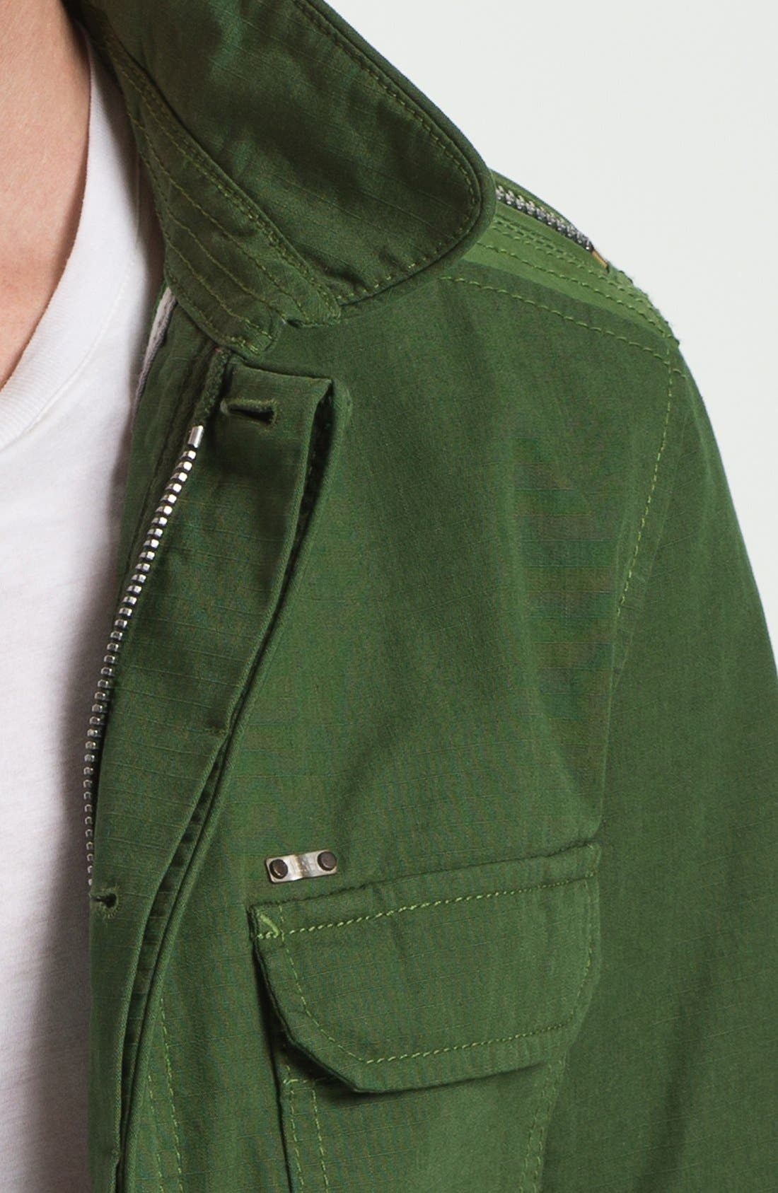 Alternate Image 3  - DIESEL® 'Jarmatocer' Ripstop Field Jacket