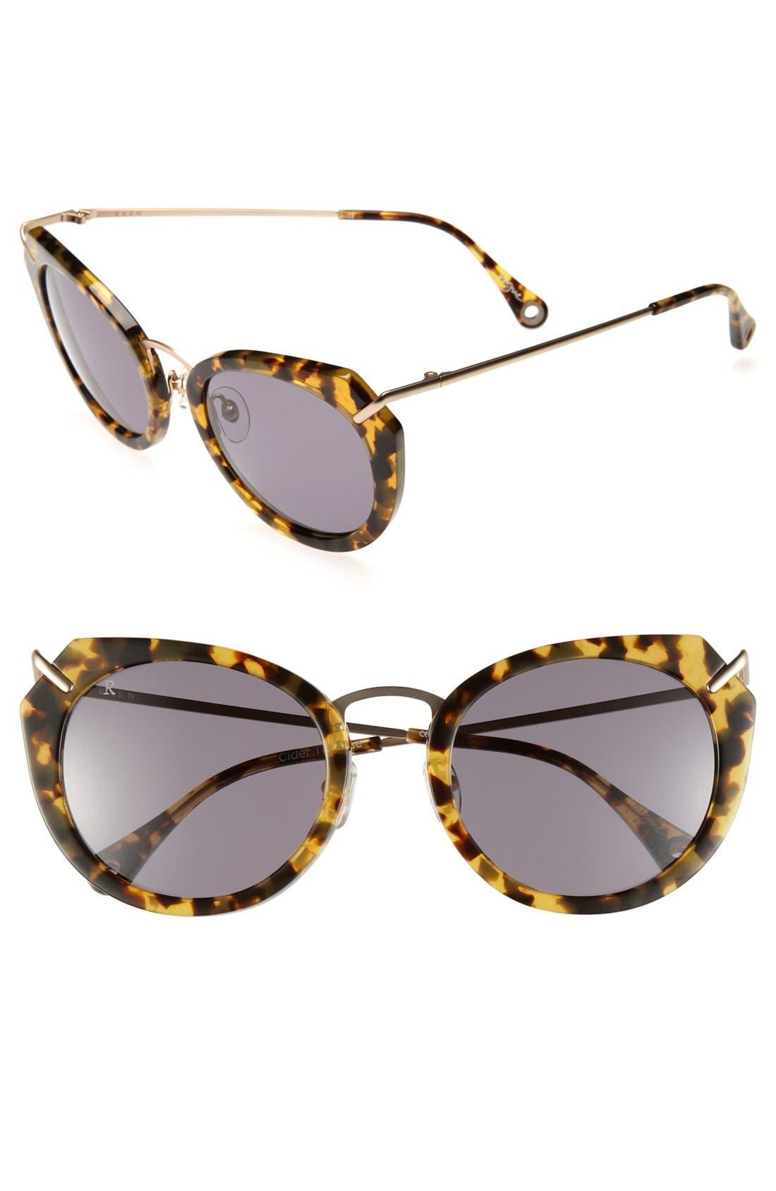Alternate Image 1 Selected - RAEN 'Pogue' 53mm Sunglasses