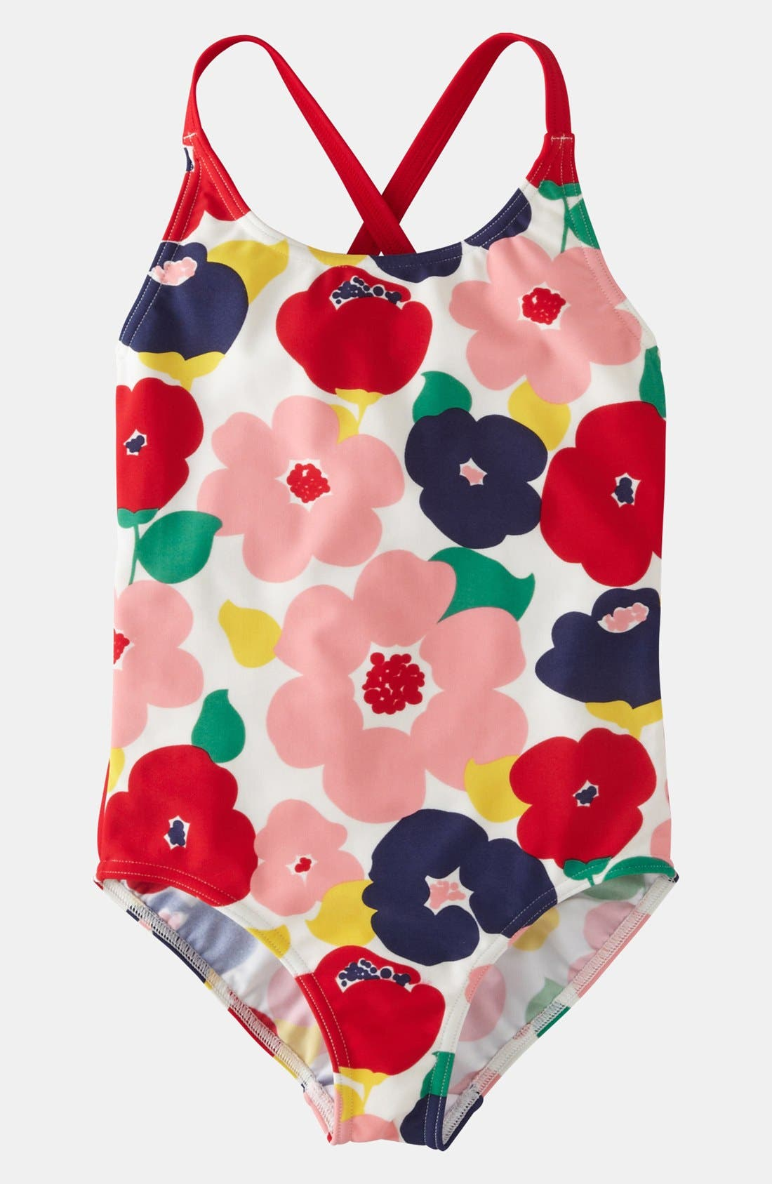 Main Image - Mini Boden One Piece Swimsuit (Toddler)