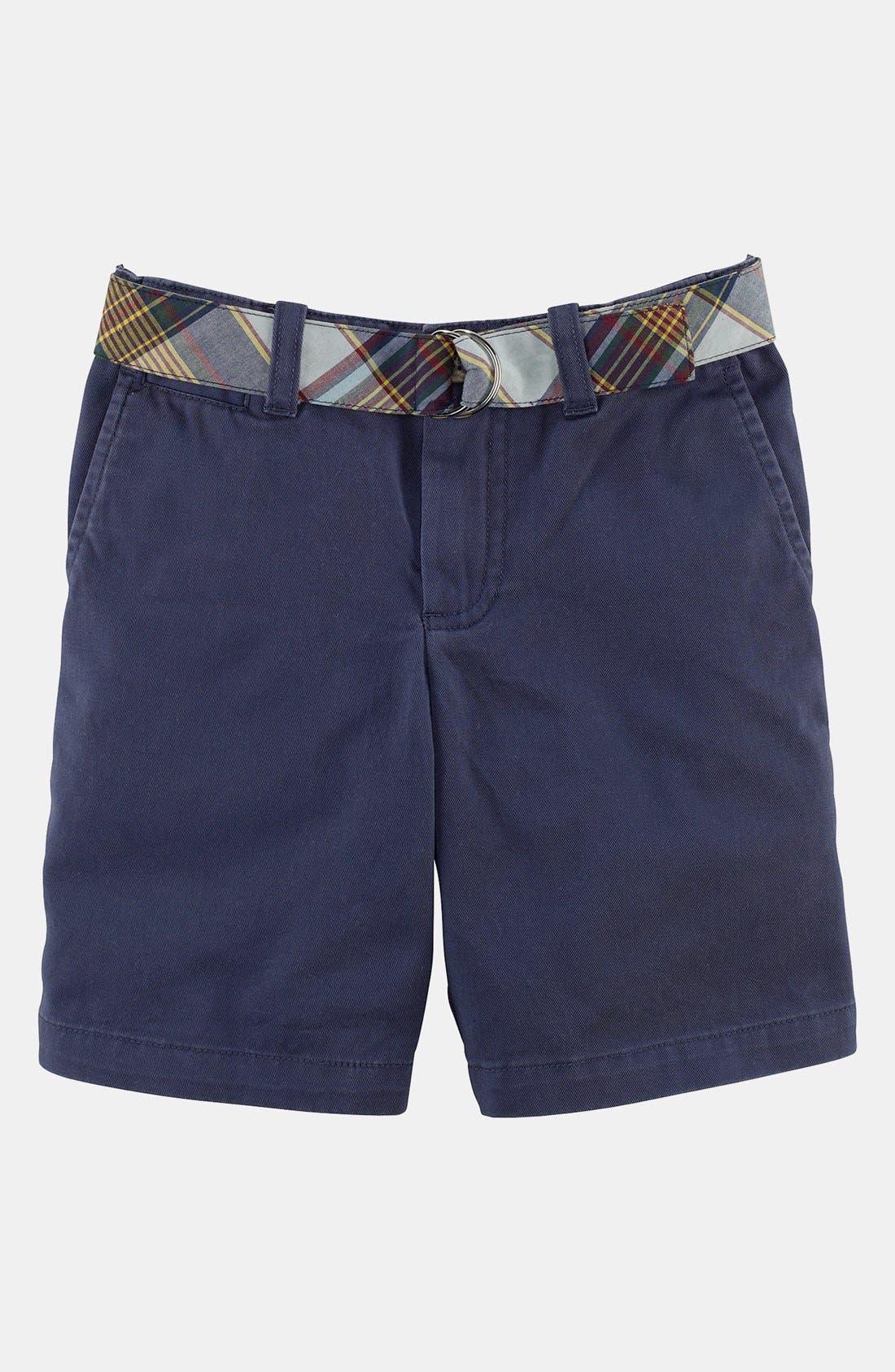 Alternate Image 1 Selected - Ralph Lauren 'Bleecker' Shorts (Toddler Boys)