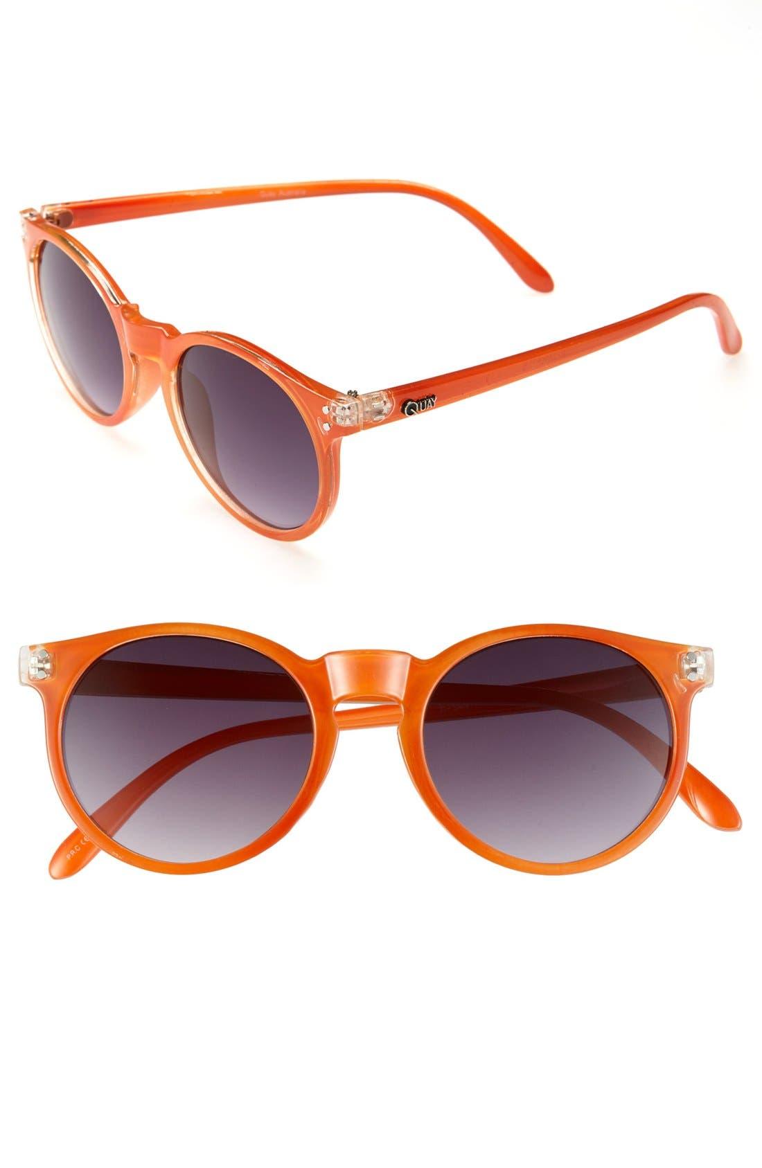 Alternate Image 1 Selected - Quay 'Roundeye' 50mm Sunglasses