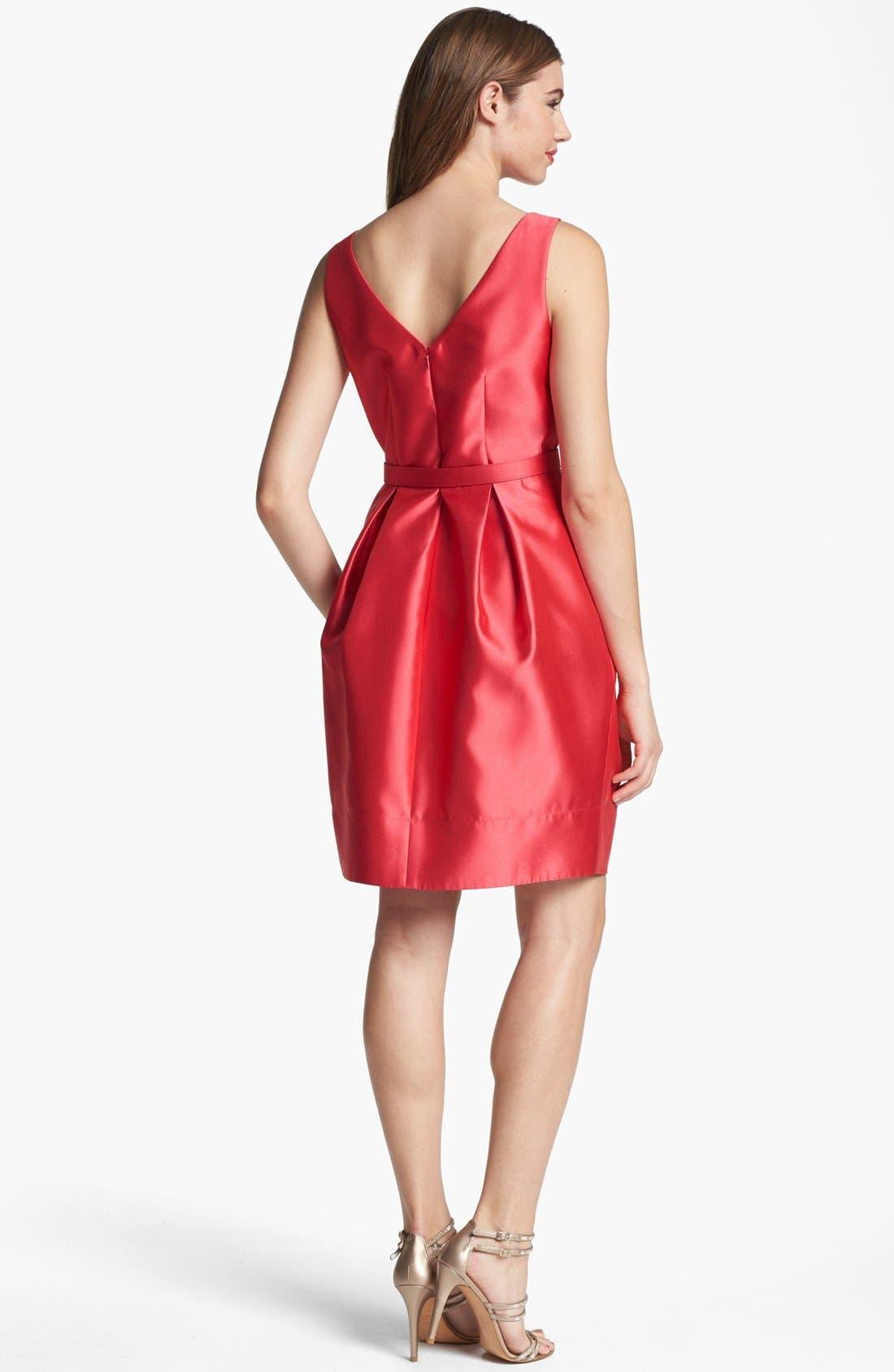 Alternate Image 2  - Eliza J Belted Tulip Dress
