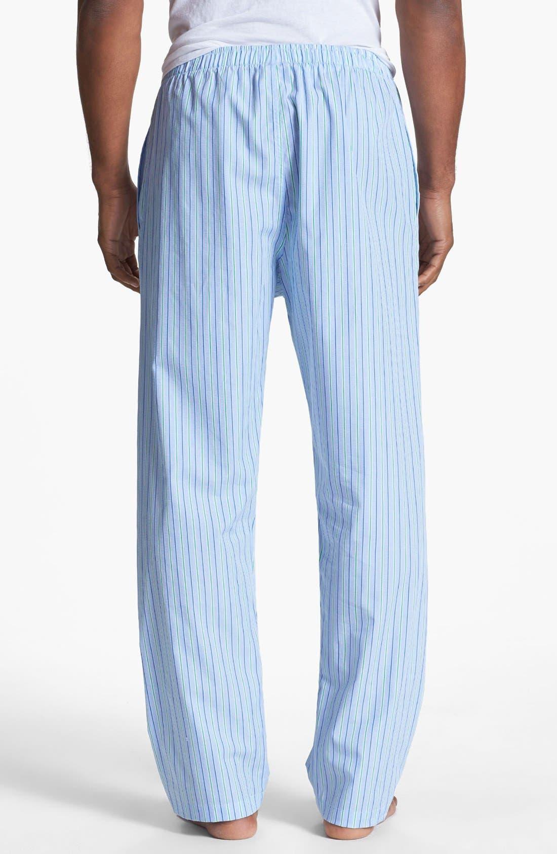Alternate Image 2  - Polo Ralph Lauren Cotton Pajama Pants