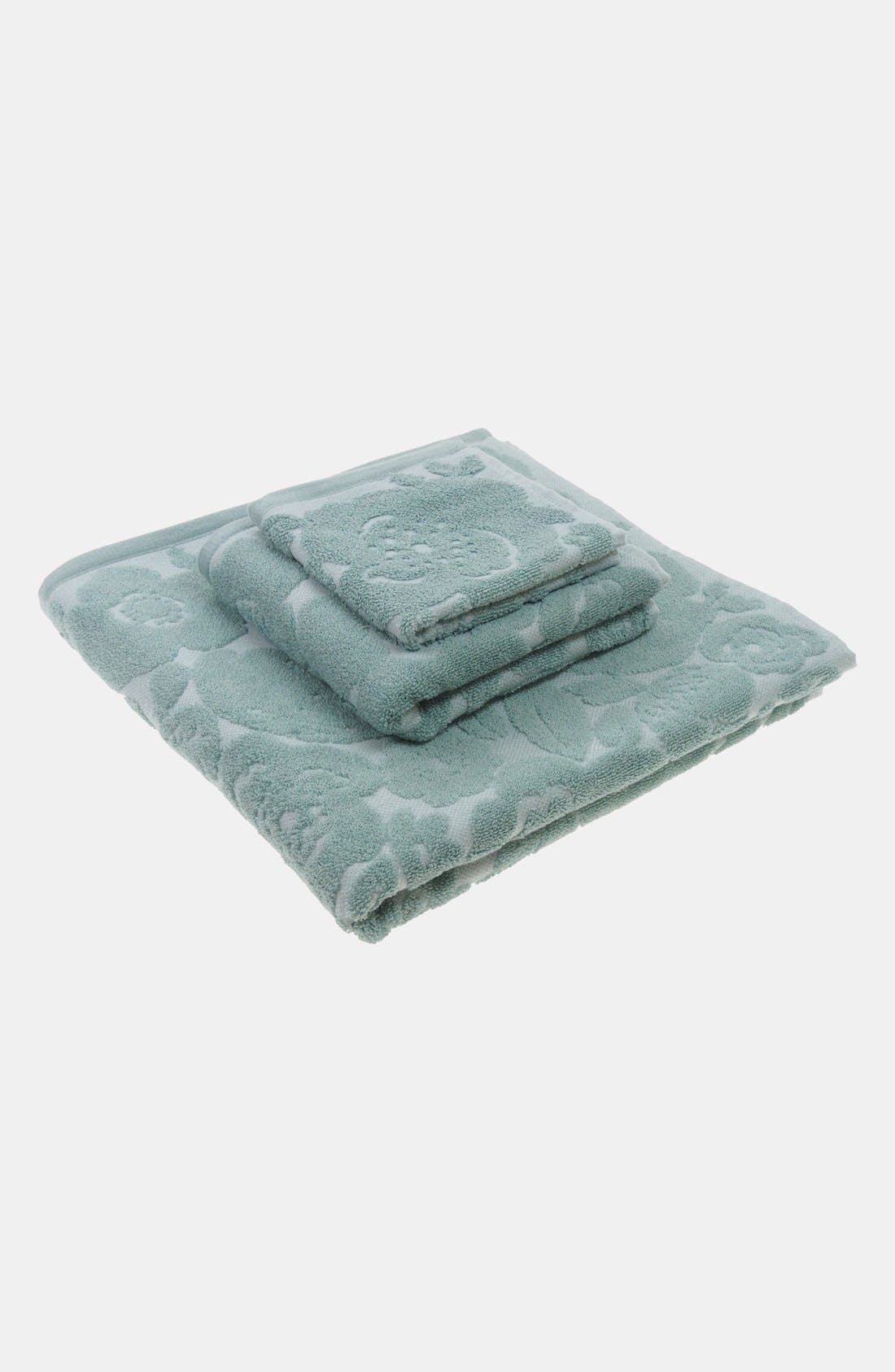 Alternate Image 3  - Nordstrom at Home 'Poppy' Jacquard Bath Towel