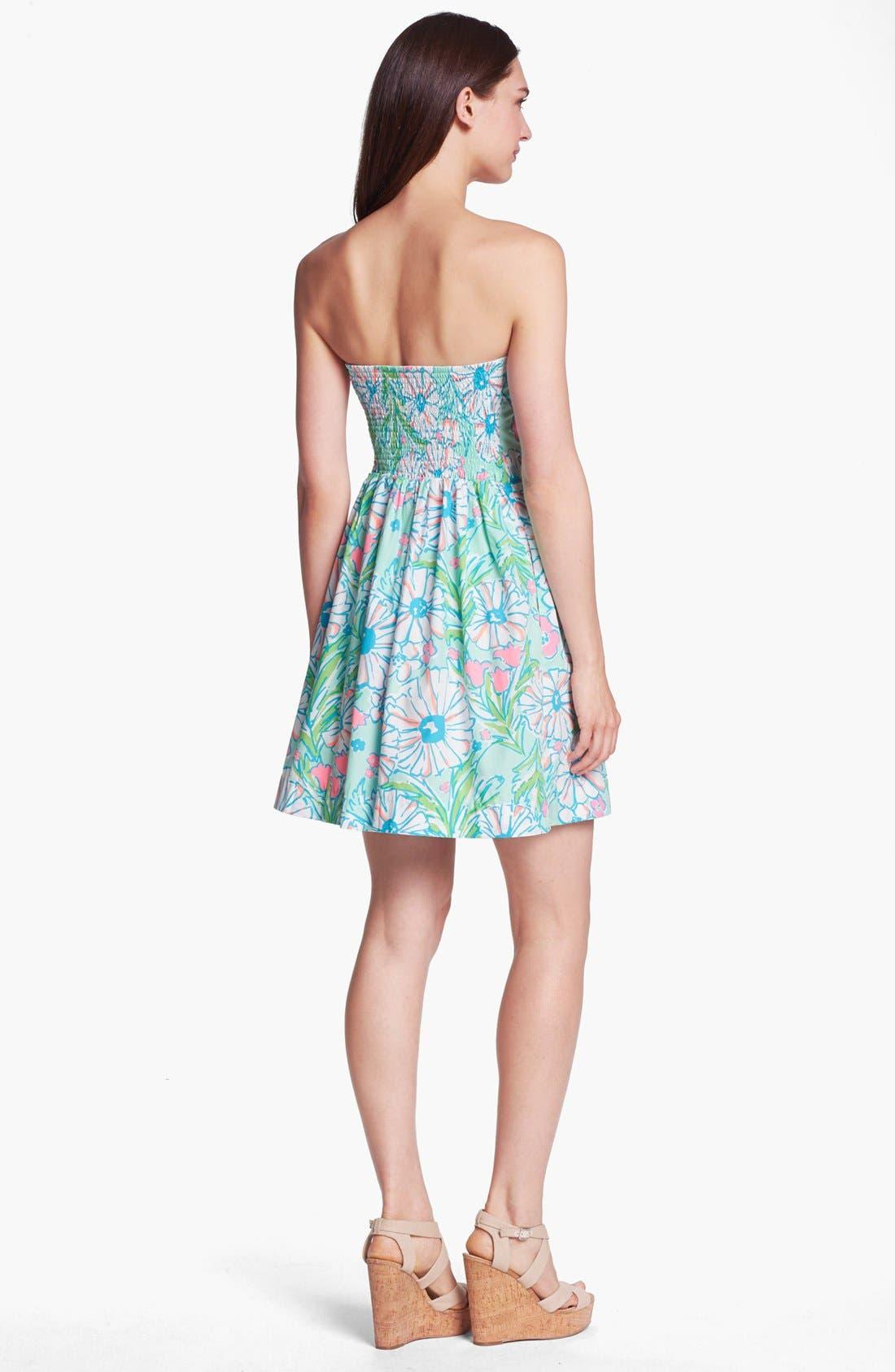 Alternate Image 2  - Lilly Pulitzer® 'Chandie' Strapless Dress