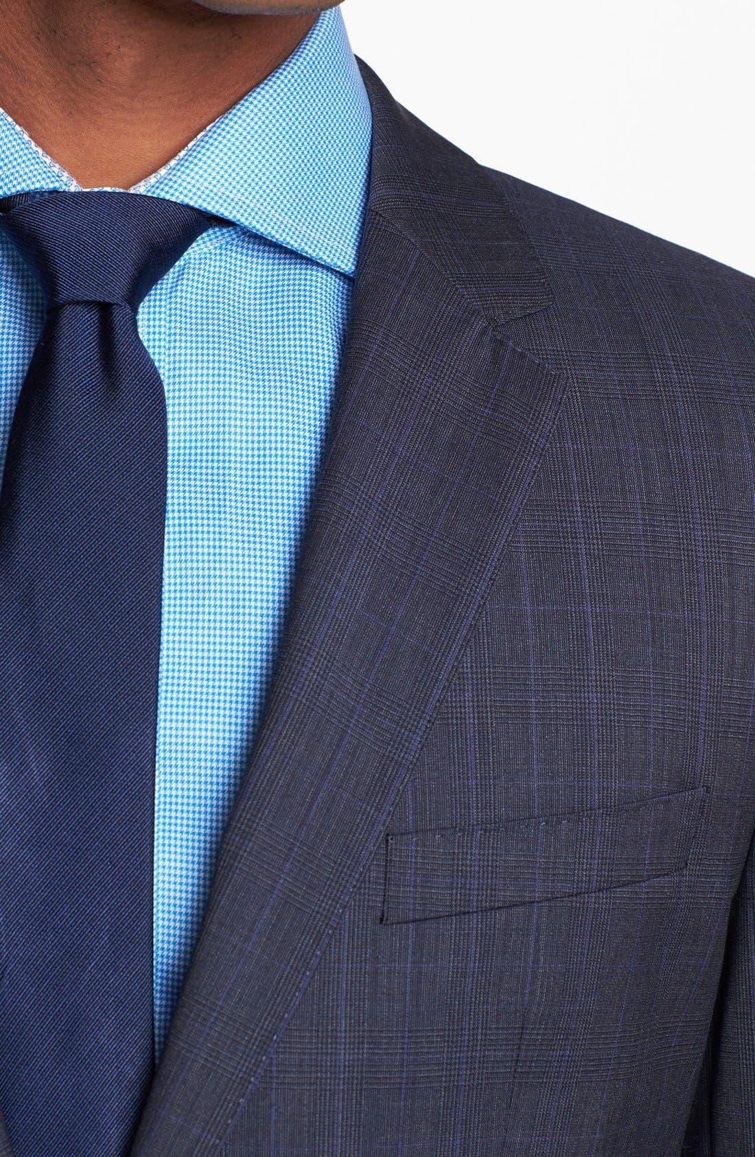 Alternate Image 2  - BOSS HUGO BOSS 'James/Sharp' Trim Fit Plaid Suit