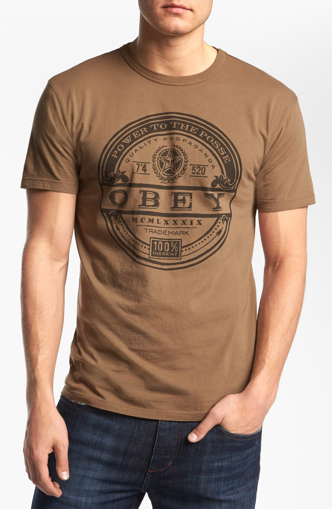 Main Image - Obey 'Power Label' T-Shirt