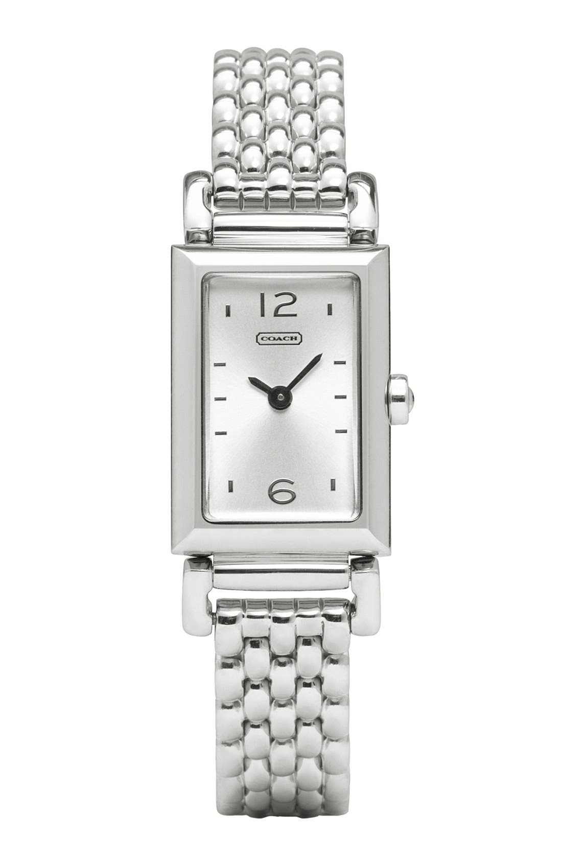 Alternate Image 1 Selected - COACH 'Small Madison' Bracelet Watch, 11mm x 17mm