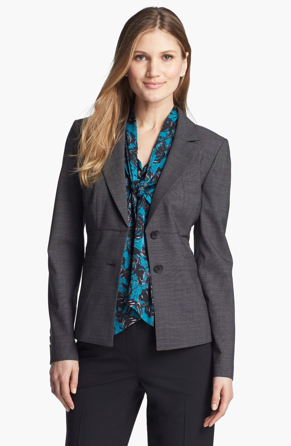 Alternate Image 1 Selected - Classiques Entier® Stretch Wool Jacket
