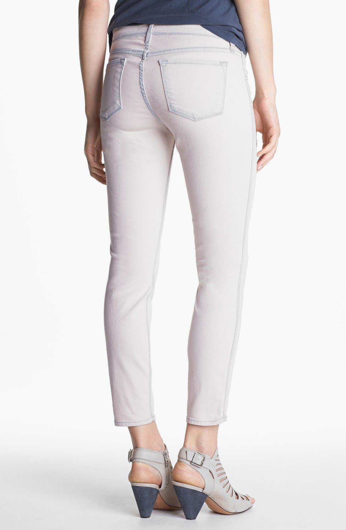Alternate Image 2  - J Brand 'Allegra' Ankle Skinny Jeans (Nirvana Magnolia)