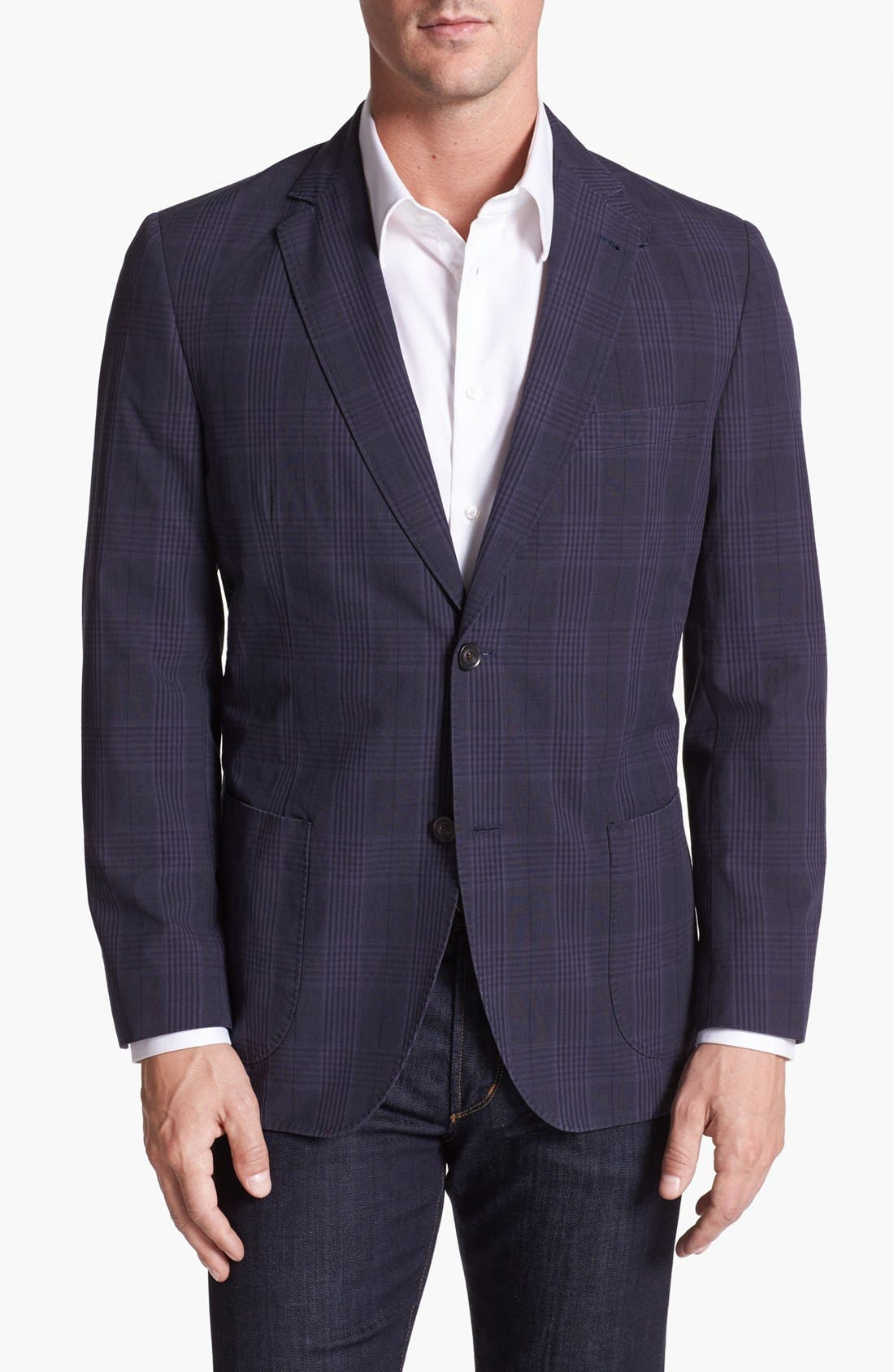 Main Image - Kroon Cotton Linen Blend Sportcoat