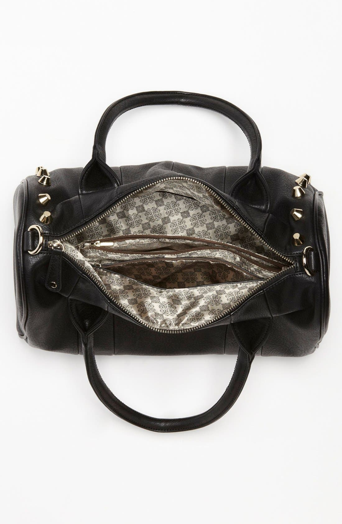 Alternate Image 3  - Emperia Studded Faux Leather Barrel Bag, Large