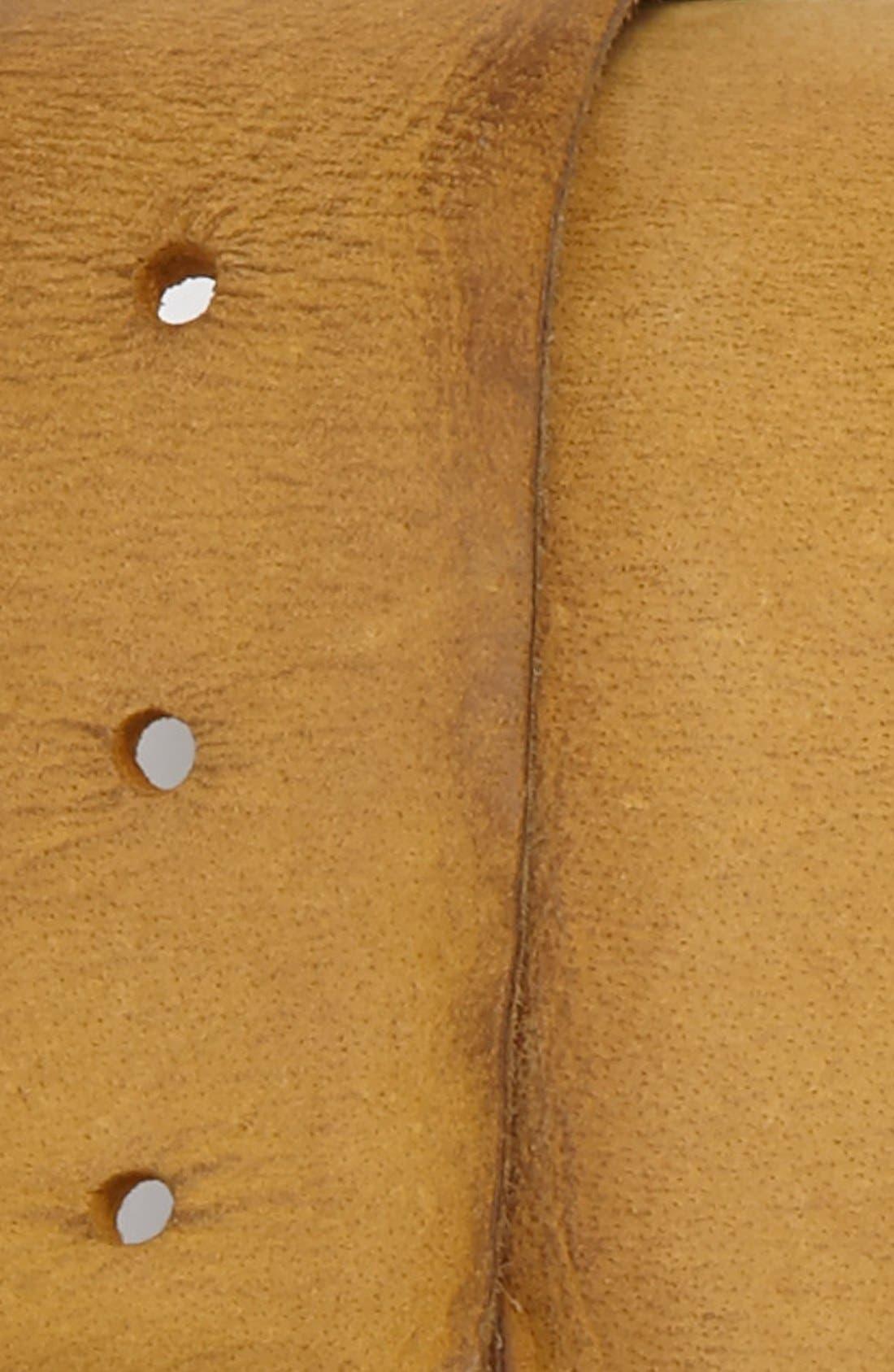 Alternate Image 2  - BOSS Orange 'Bibol' Buffalo Leather Belt