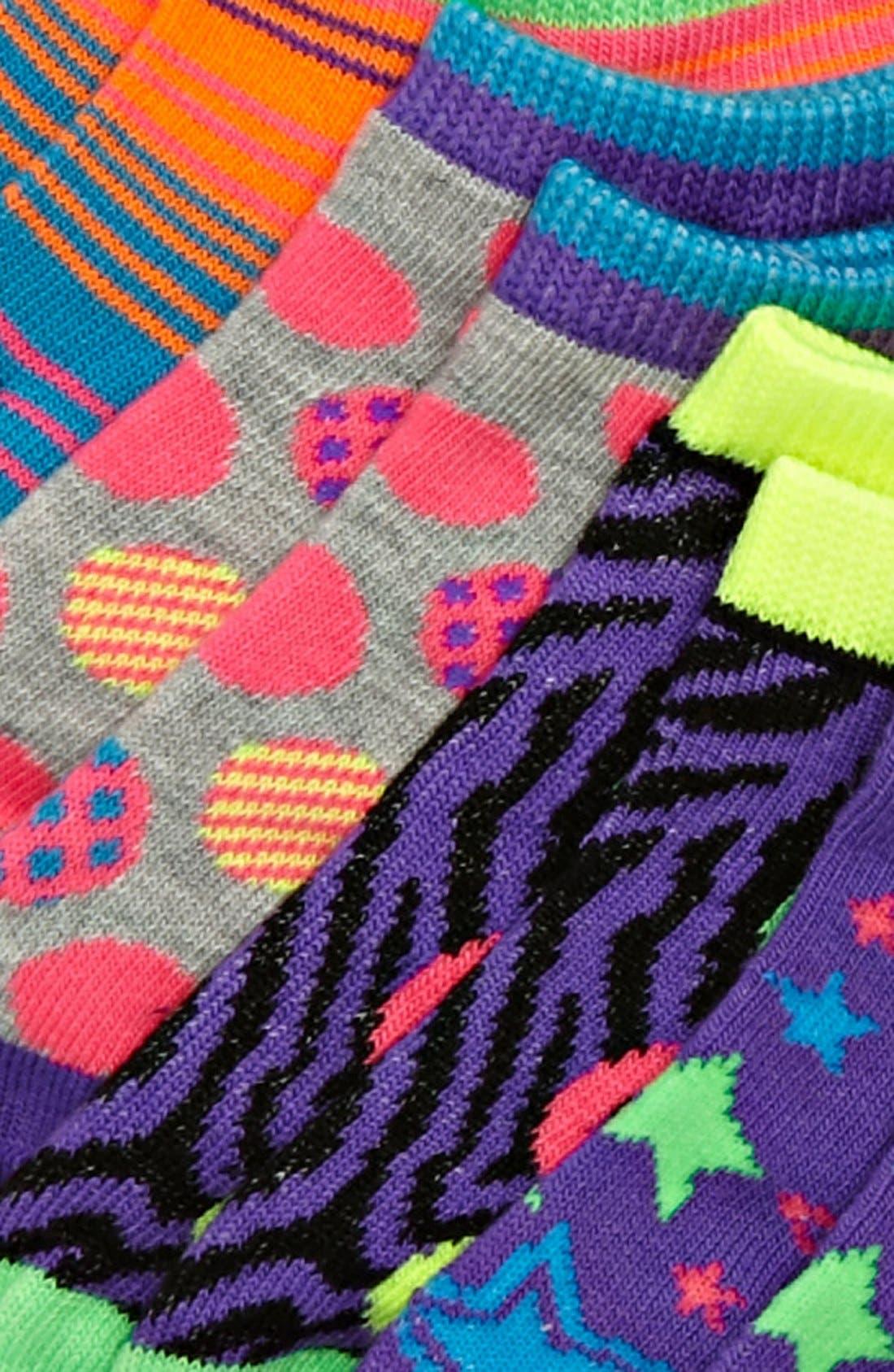 Alternate Image 2  - Nordstrom Low Cut Socks (6-Pack)(Toddler, Little Girls & Big Girls)