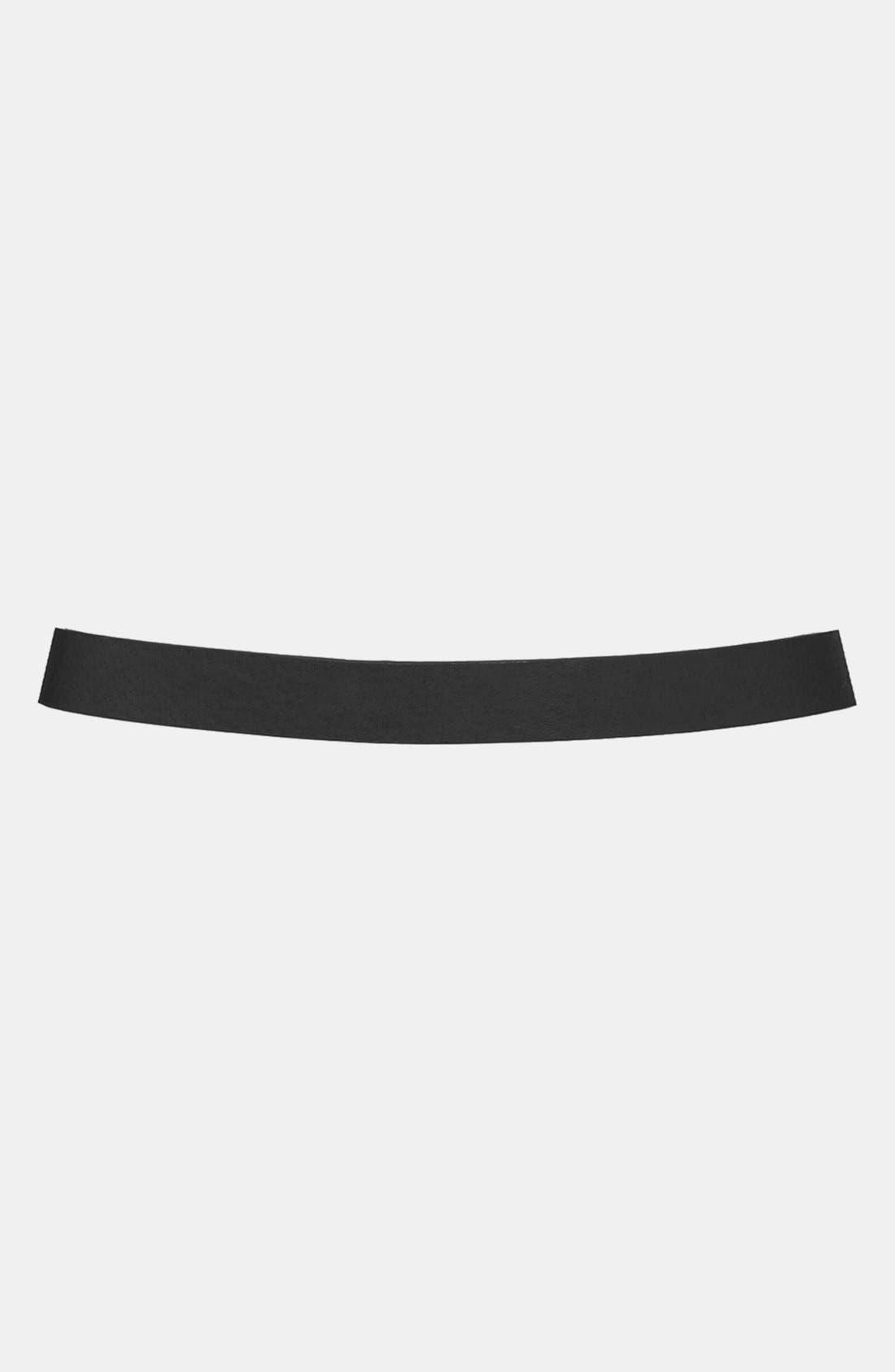 Alternate Image 2  - Topshop Metal Bar Belt