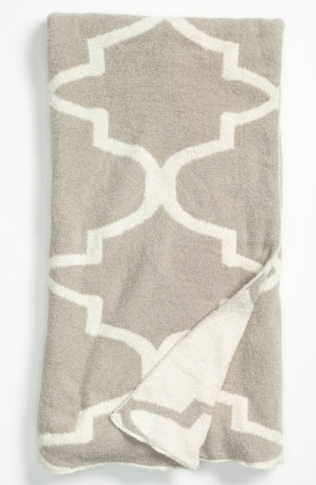 'Moroccan Dolce' Throw,                             Main thumbnail 1, color,                             Flax