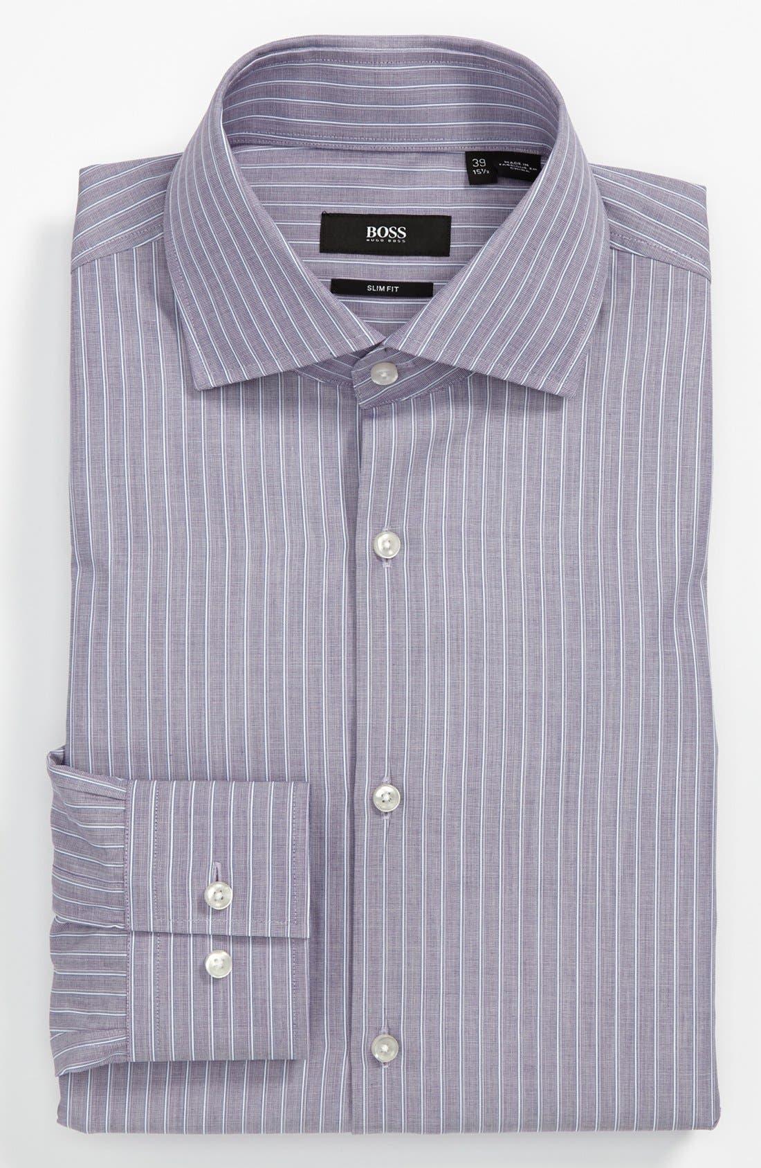 Main Image - BOSS HUGO BOSS 'Jaron' Slim Fit Dress Shirt