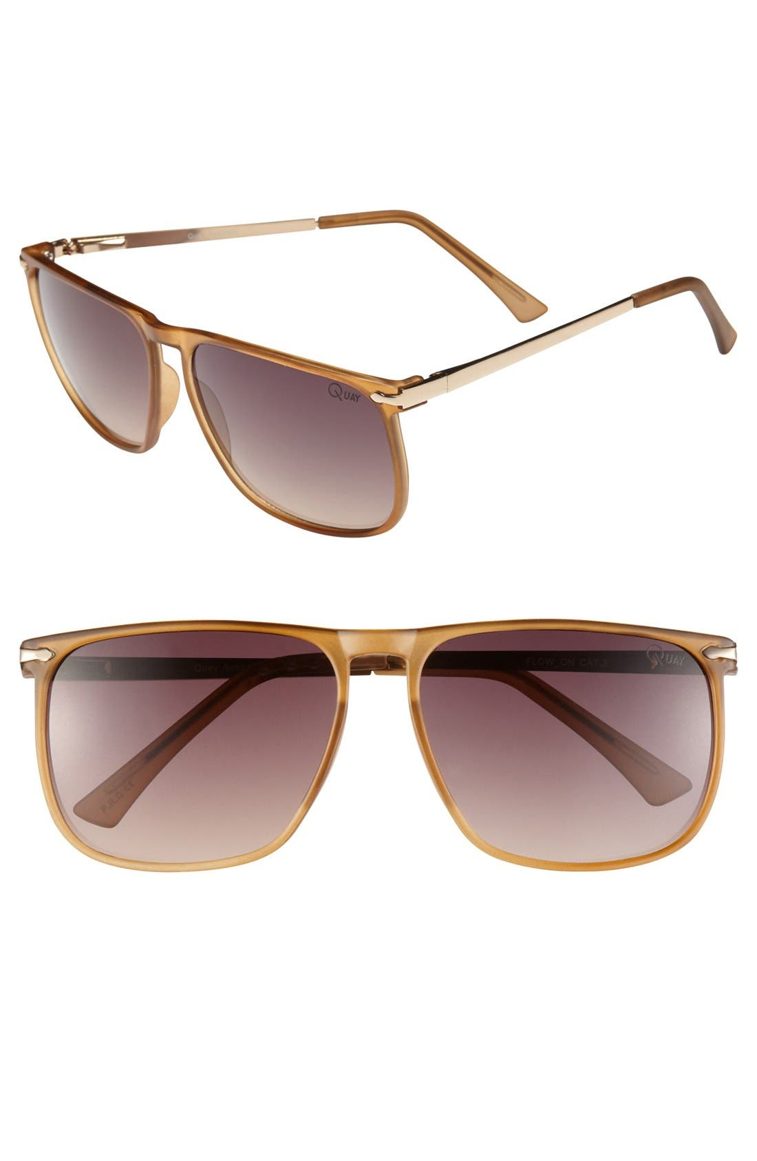 Alternate Image 1 Selected - Quay 'Follow On' Sunglasses