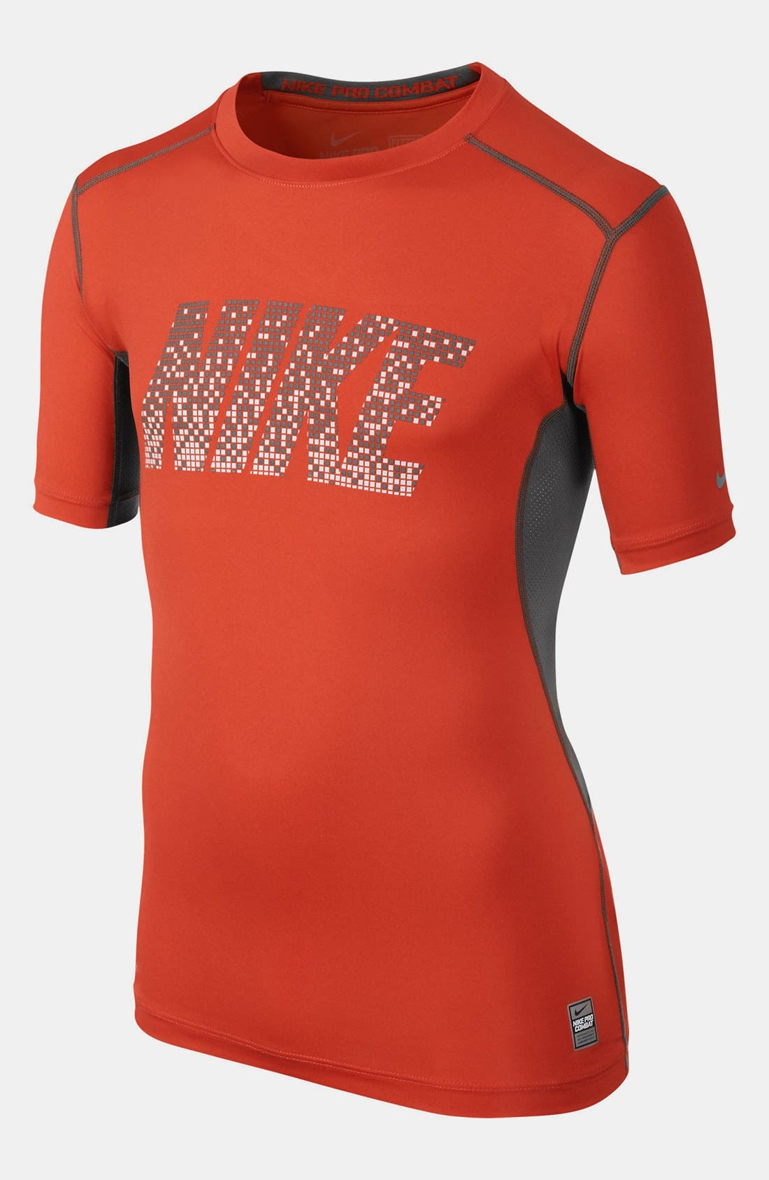 Main Image - Nike 'Pro Core' Fitted Graphic T-Shirt (Big Boys)
