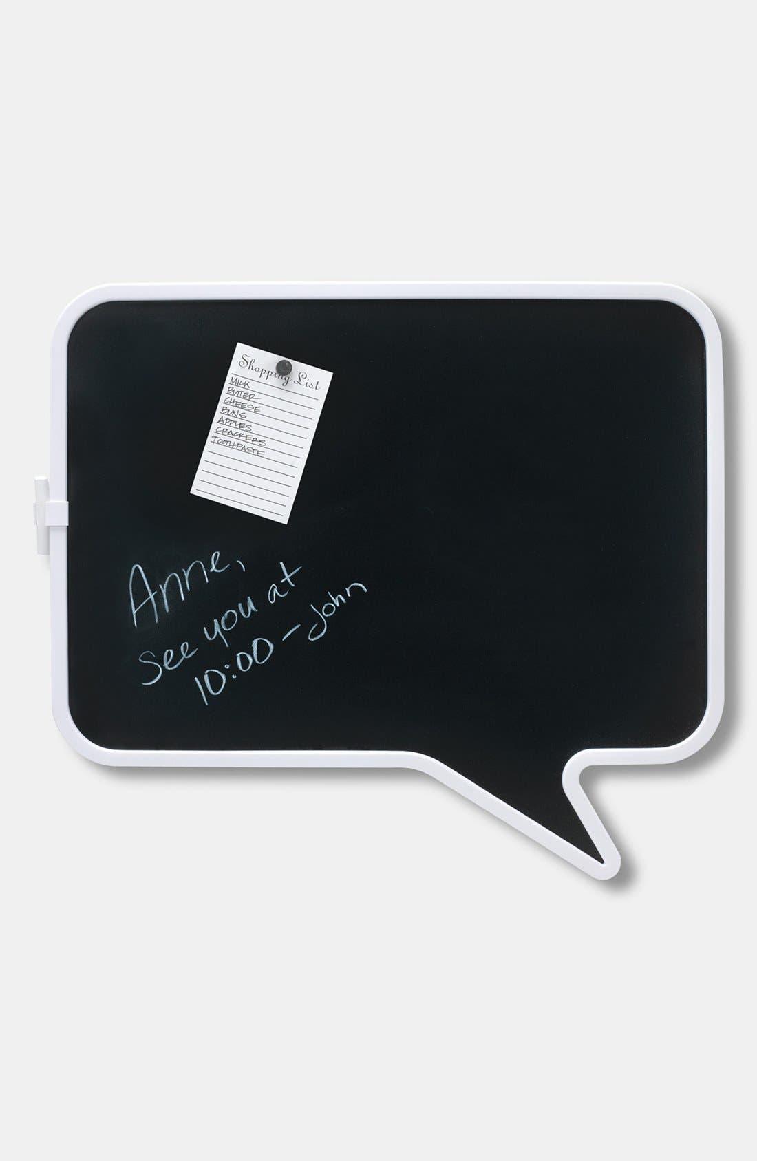 Alternate Image 1 Selected - 'Talk' Chalkboard