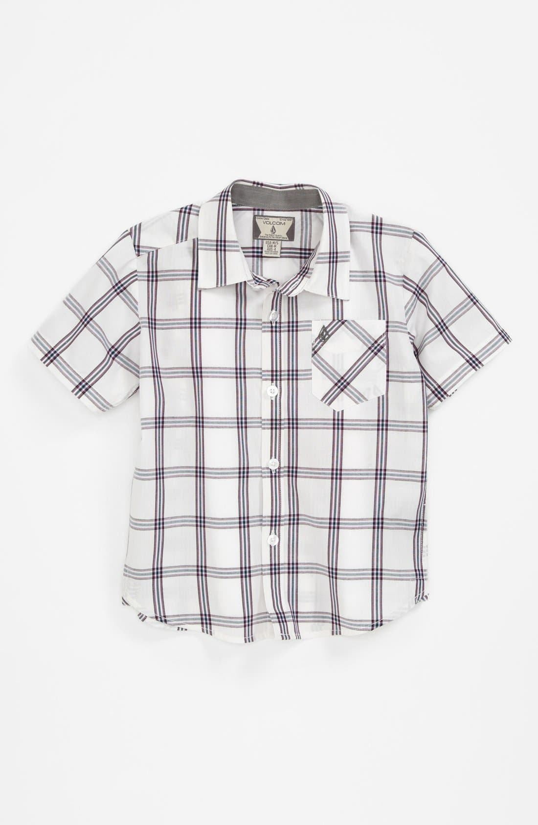 Main Image - Volcom 'Why Factor' Woven Shirt (Big Boys) (Online Only)