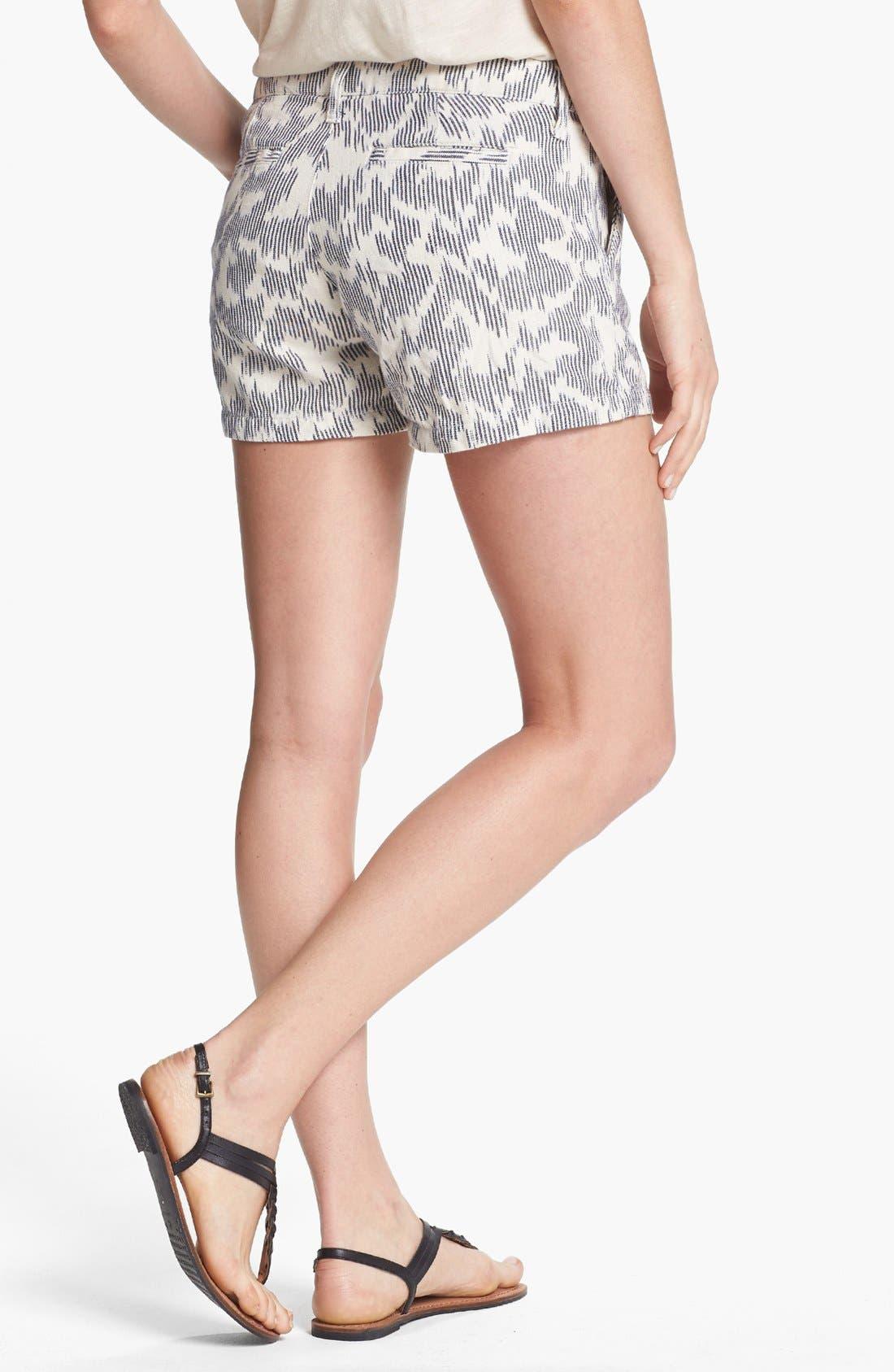 Alternate Image 2  - Lucky Brand 'Leela' Ikat Print Shorts