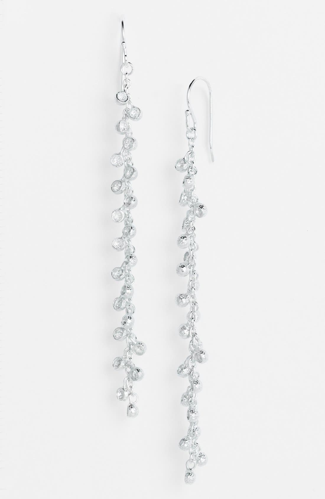 Alternate Image 1 Selected - Melinda Maria 'Vivian - Fringe' Linear Earrings (Online Only)