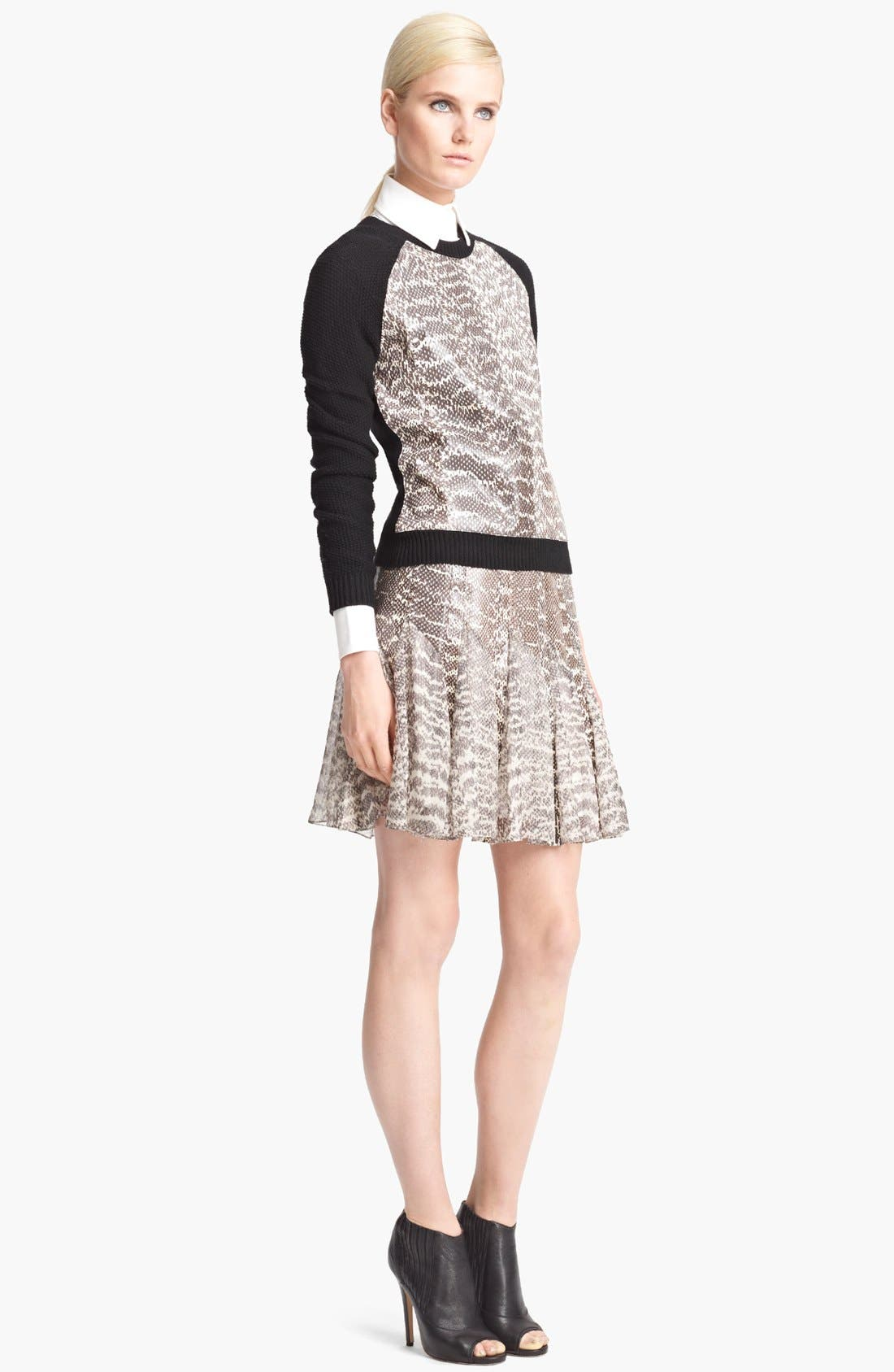 Alternate Image 3  - Jason Wu Pintuck Twill Blouse