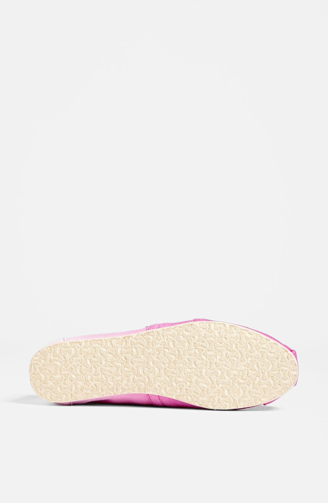 Alternate Image 4  - TOMS 'Classic - Pink Ombré' Slip-On (Women) (Exclusive Color)