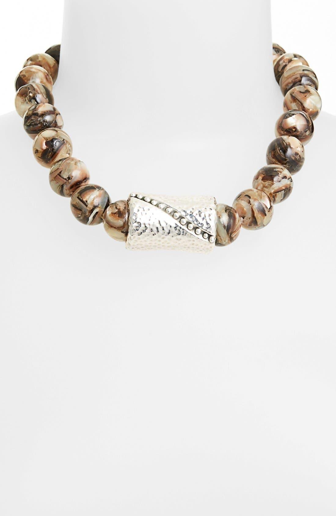 Main Image - Simon Sebbag Shell Necklace with Center Bead