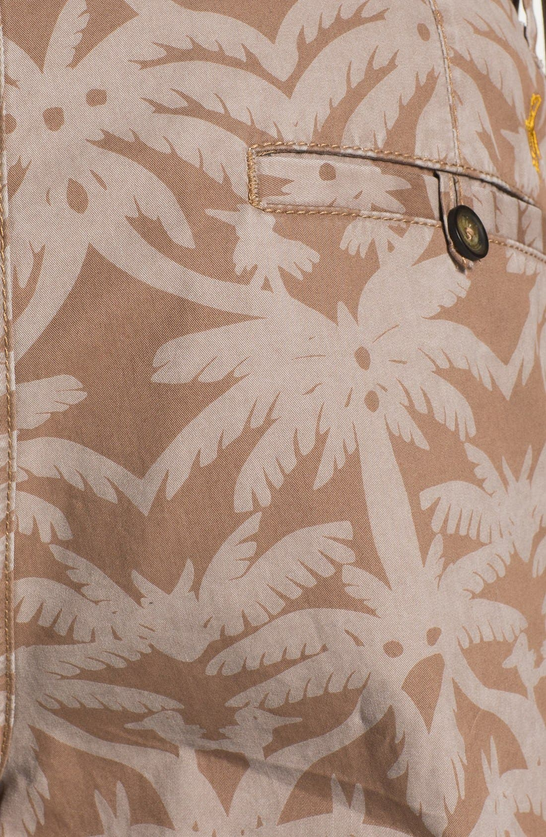 Alternate Image 3  - Original Penguin Palm Print Shorts